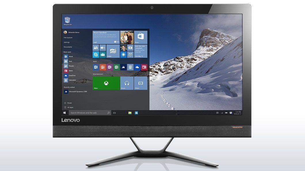 "Lenovo 300-23ISU 23"" i5-6200U/1TB HDD/8GB RAM/Non-Touch All in One PC Black"