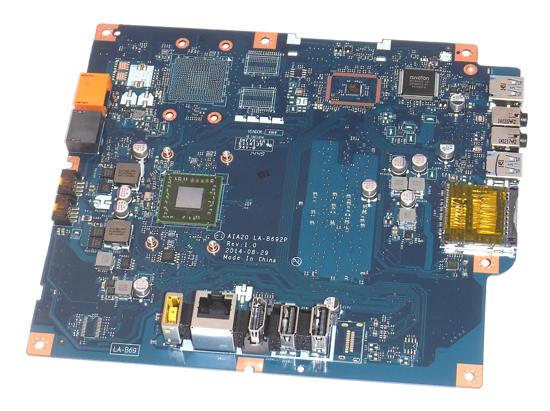 Lenovo 5B20H14344 Motherboard f/ C20-05 AiO PC w/ AMD E1-6010 CPU