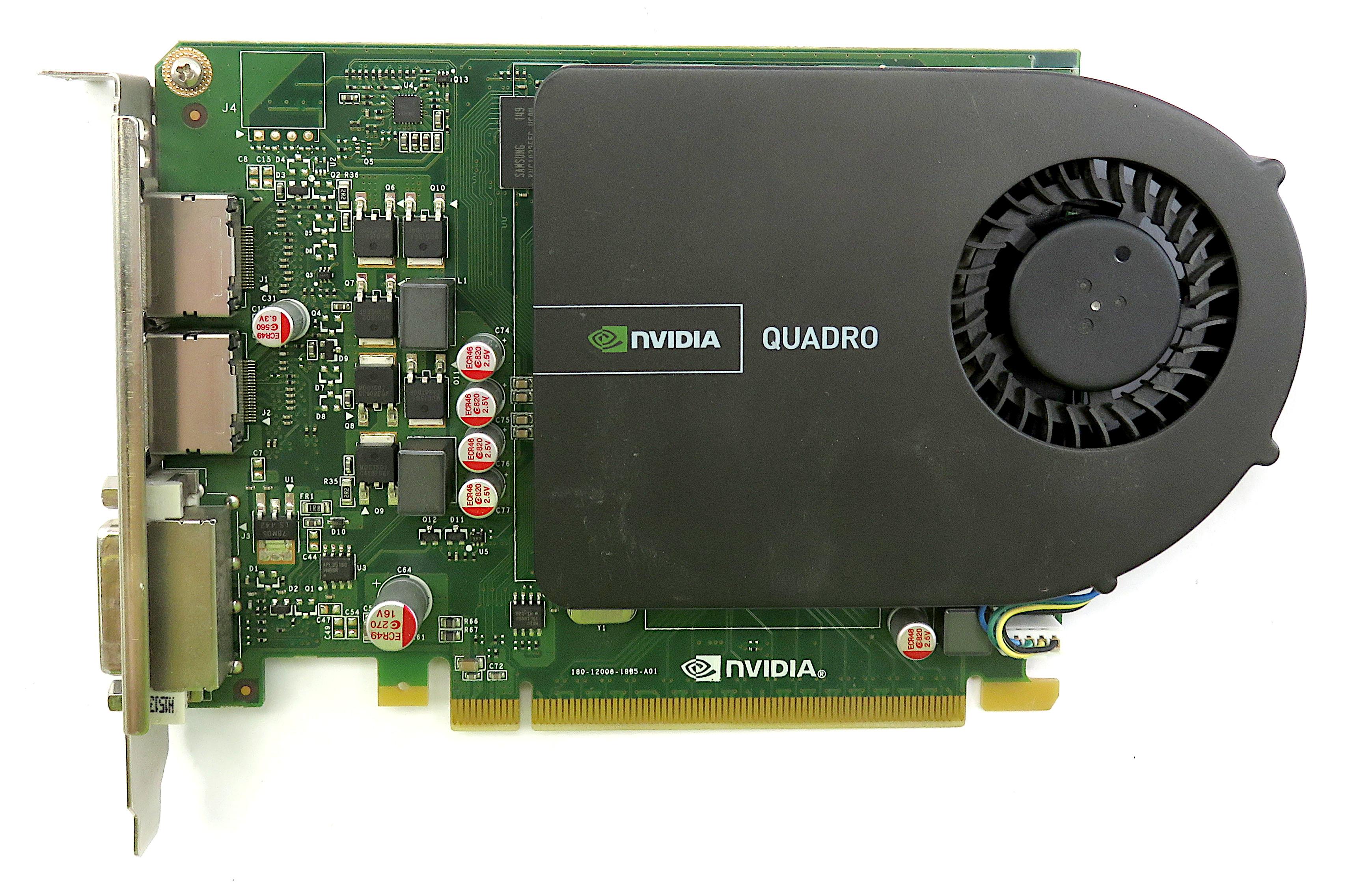 PNY VCQ2000V2-T Nvidia Quadro 2000 PCIe 1GB DVI-I/ Dual Display Graphics Card