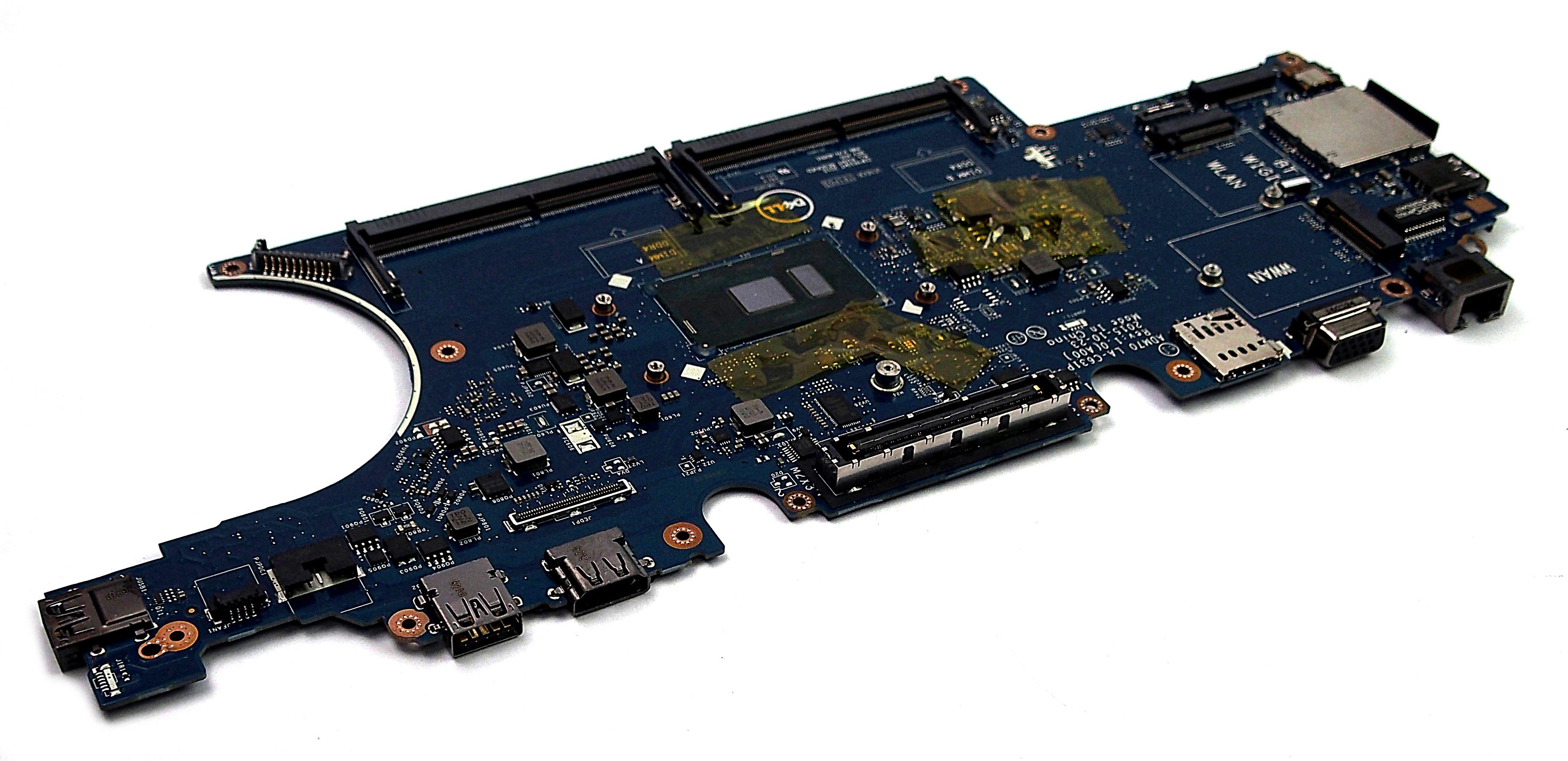 Dell 0VJ1G Latitude E5470 Motherboard with Intel Core i3-6100U BGA Processor