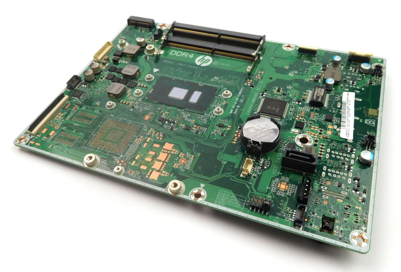 848949-002 HP AIO PC 24-ea030na Motherboard w/ BGA Core i5-6200U CPU /N91 Hawaii