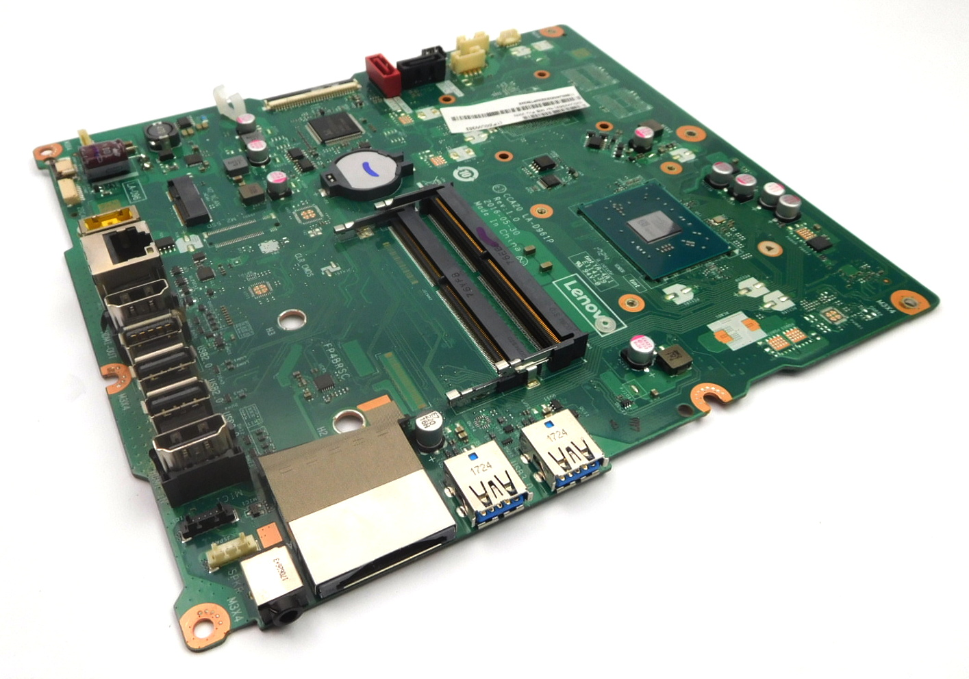 00UW353 Lenovo 510-22ASR AIO PC Motherboard w/ BGA AMD A9-9410 CPU / LA-D961P