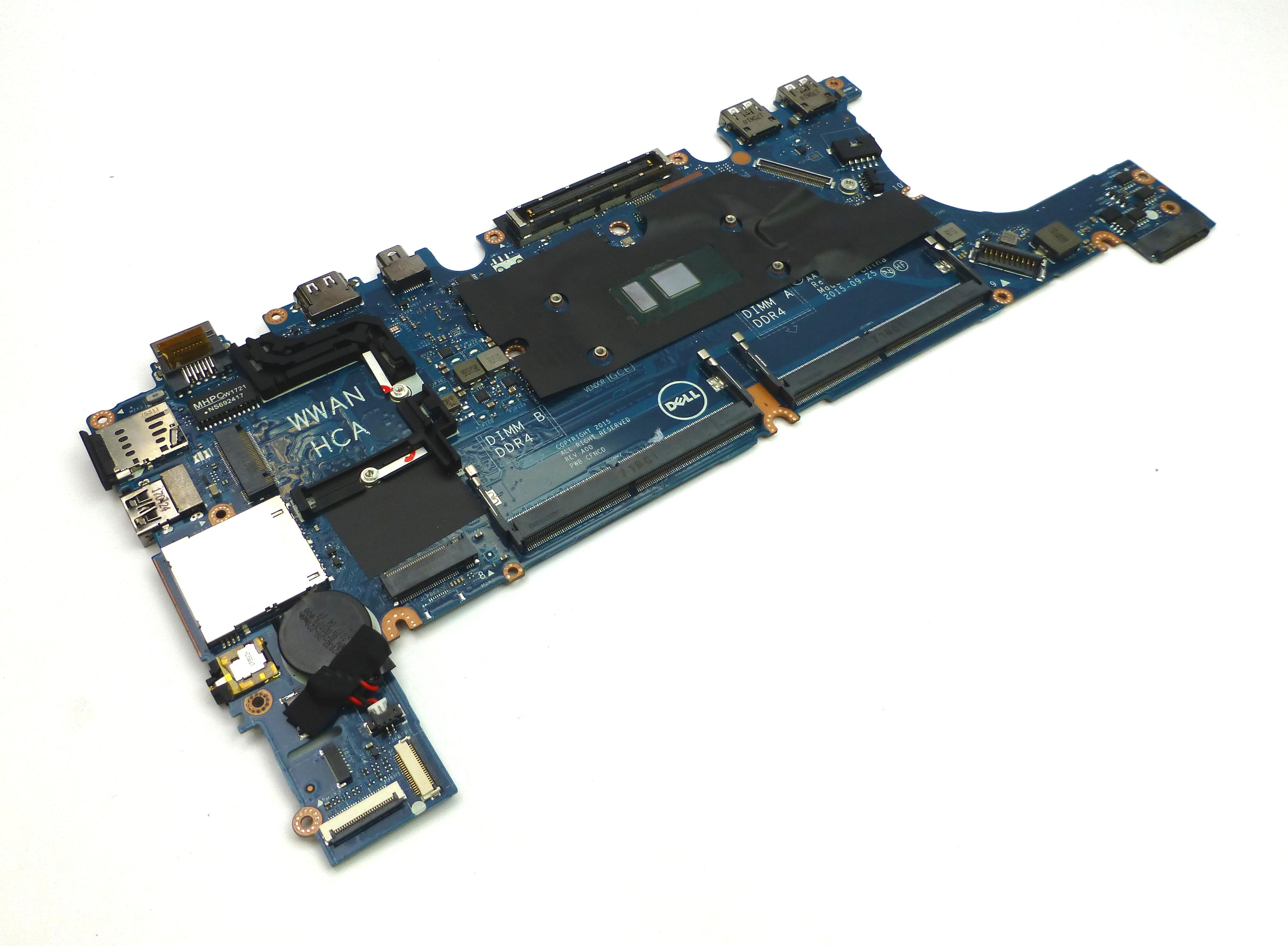 Dell H7Y7K Latitude E7270 Motherboard w/ Intel Core i5-6300u Processor