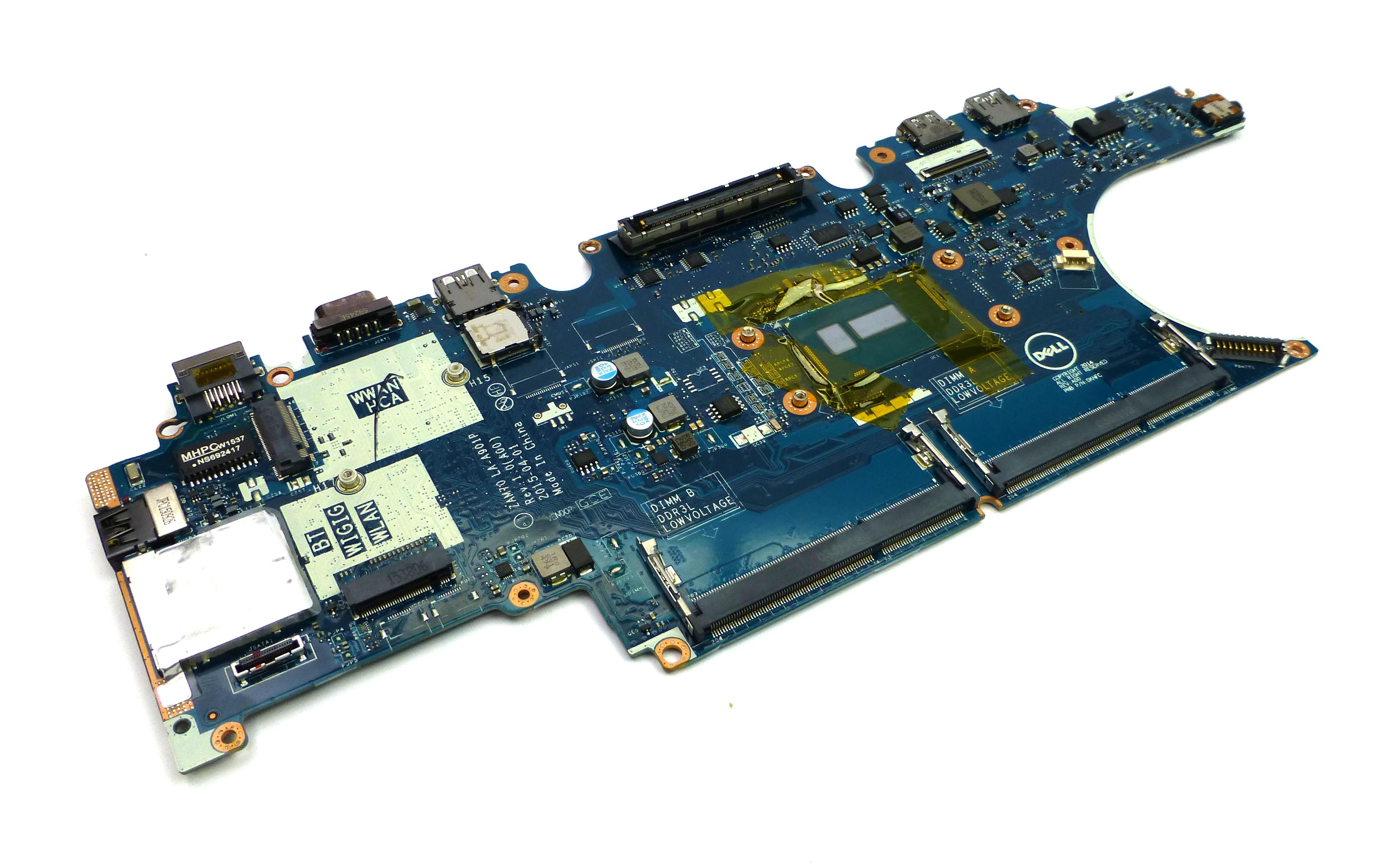Dell PVYKY Latitude E5450 Motherboard w/ Intel Core  i3-5010U 2.1GHz CPU