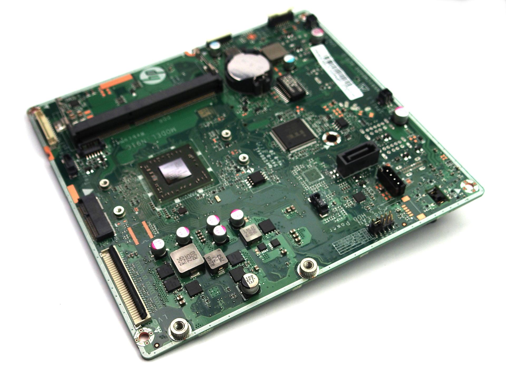 HP 845615-005 Motherboard f/ 24-g080na AiO PC w/ BGA AMD A8-7410 CPU