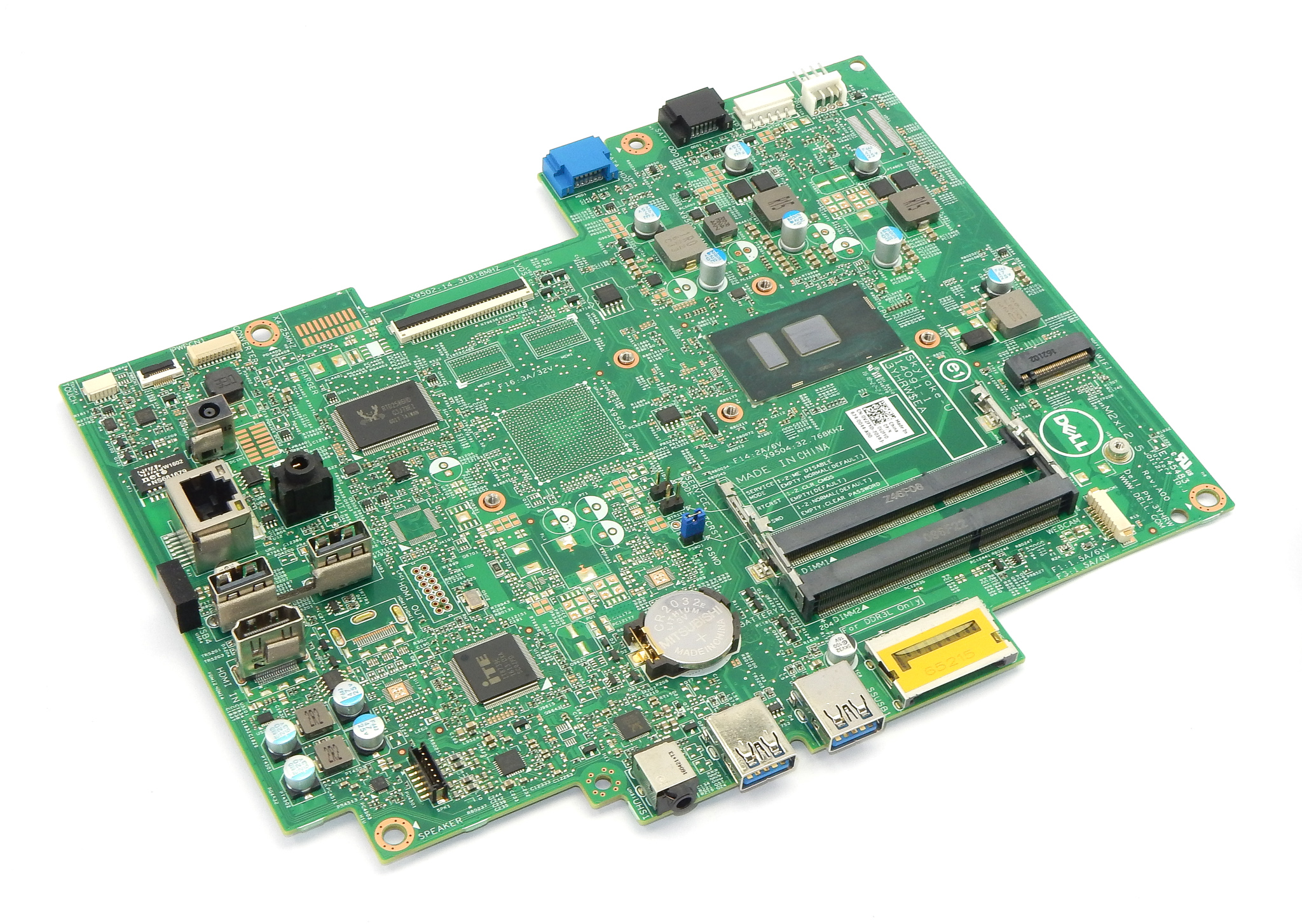 V2FYD Dell Inspiron 22 3263 AiO PC Motherboard /w BGA Core i3-6100U CPU