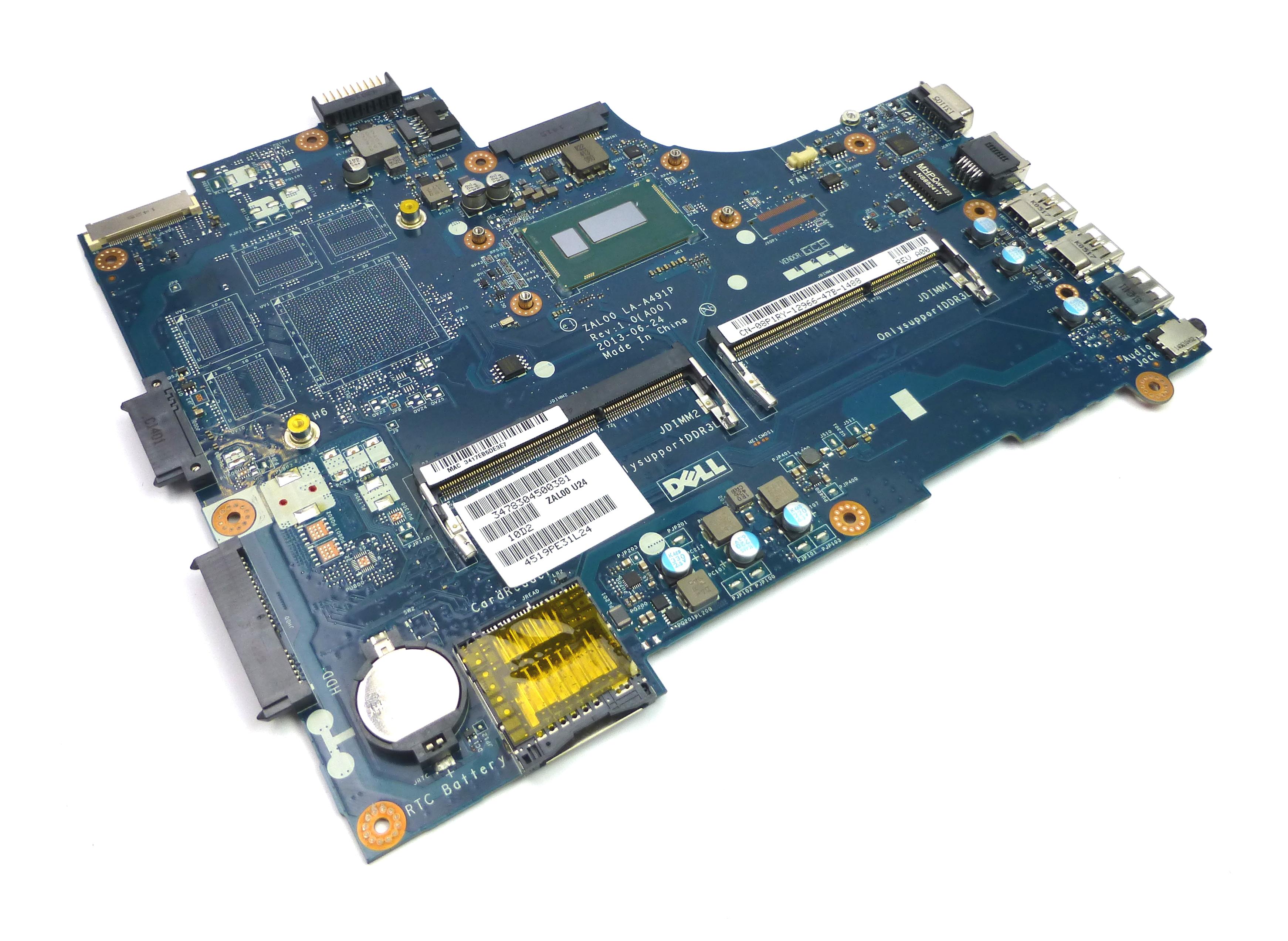 Dell 8P1RY Latitude 3540 Motherboard w/ Intel Core i3-4030U BGA Processor