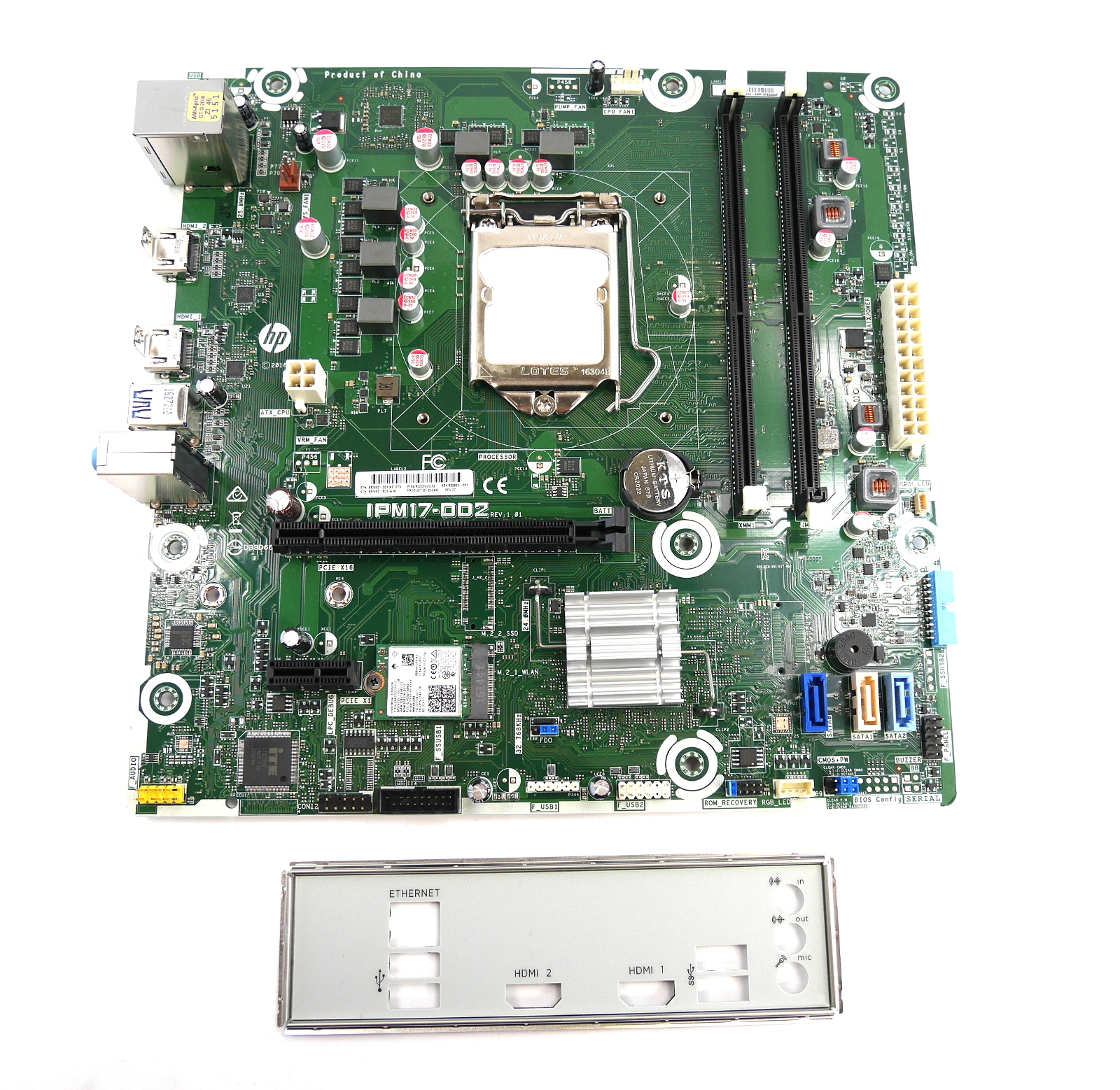 HP 862992-001 IPM17-DD2 REV:1.01 Motherboard Intel LGA1151 6th Gen.