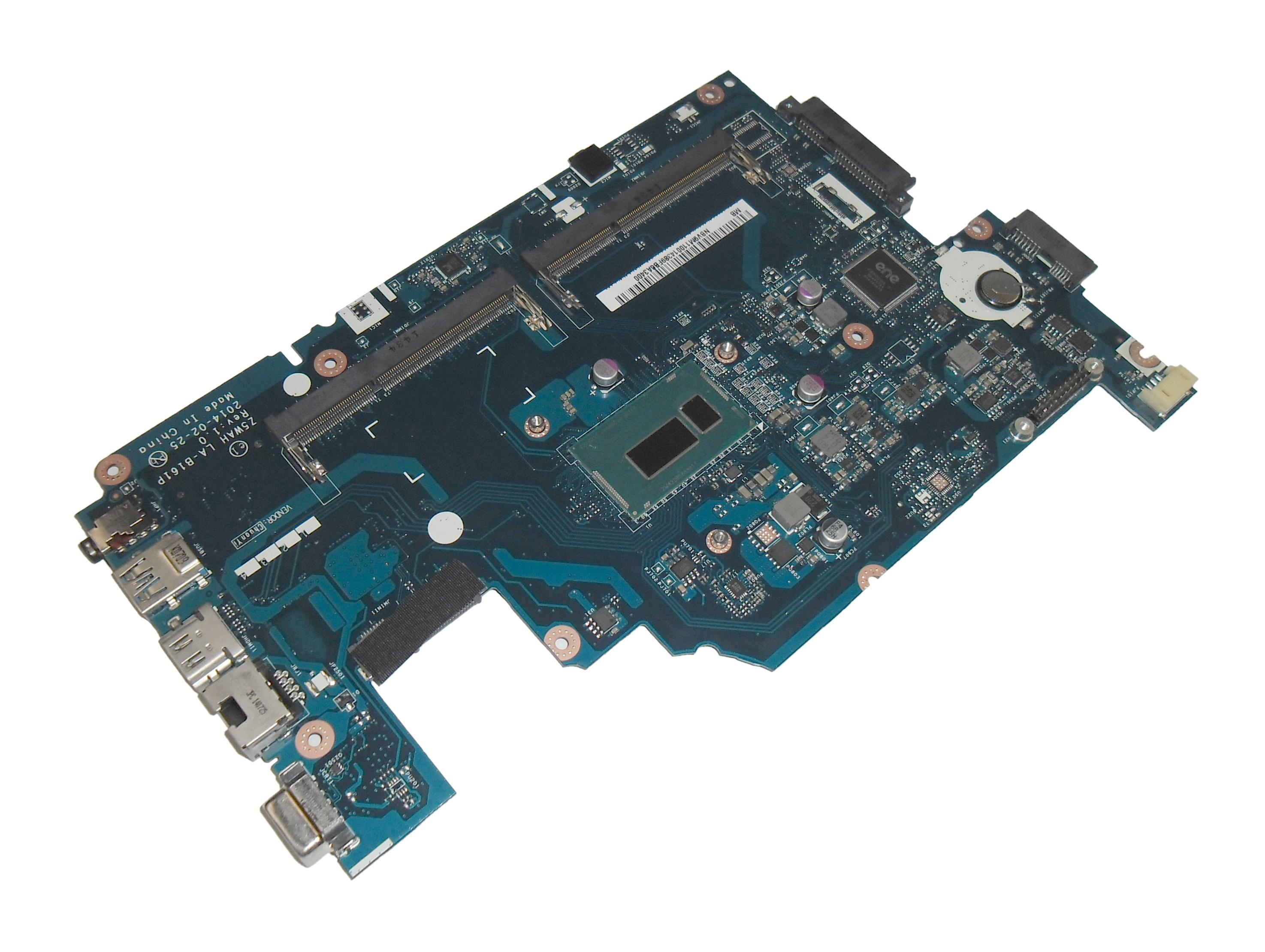 Acer NB.V9M11.001 Aspire E5-571 Motherboard with Intel i3-4005U CPU - LA-B161P