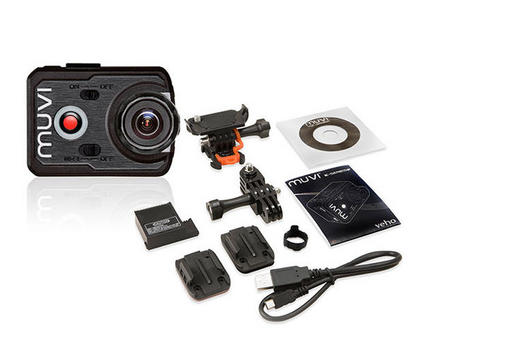 Veho Muvi K-Series K-1 Full HD Wireless Action Cam VCC-006-K1