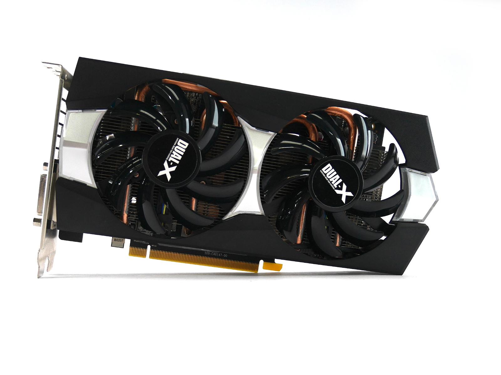 Sapphire R9 270X 2GB Radeon 299-1E271-000SA Dual-X DVI-D/DVI-I/HDMI/DP