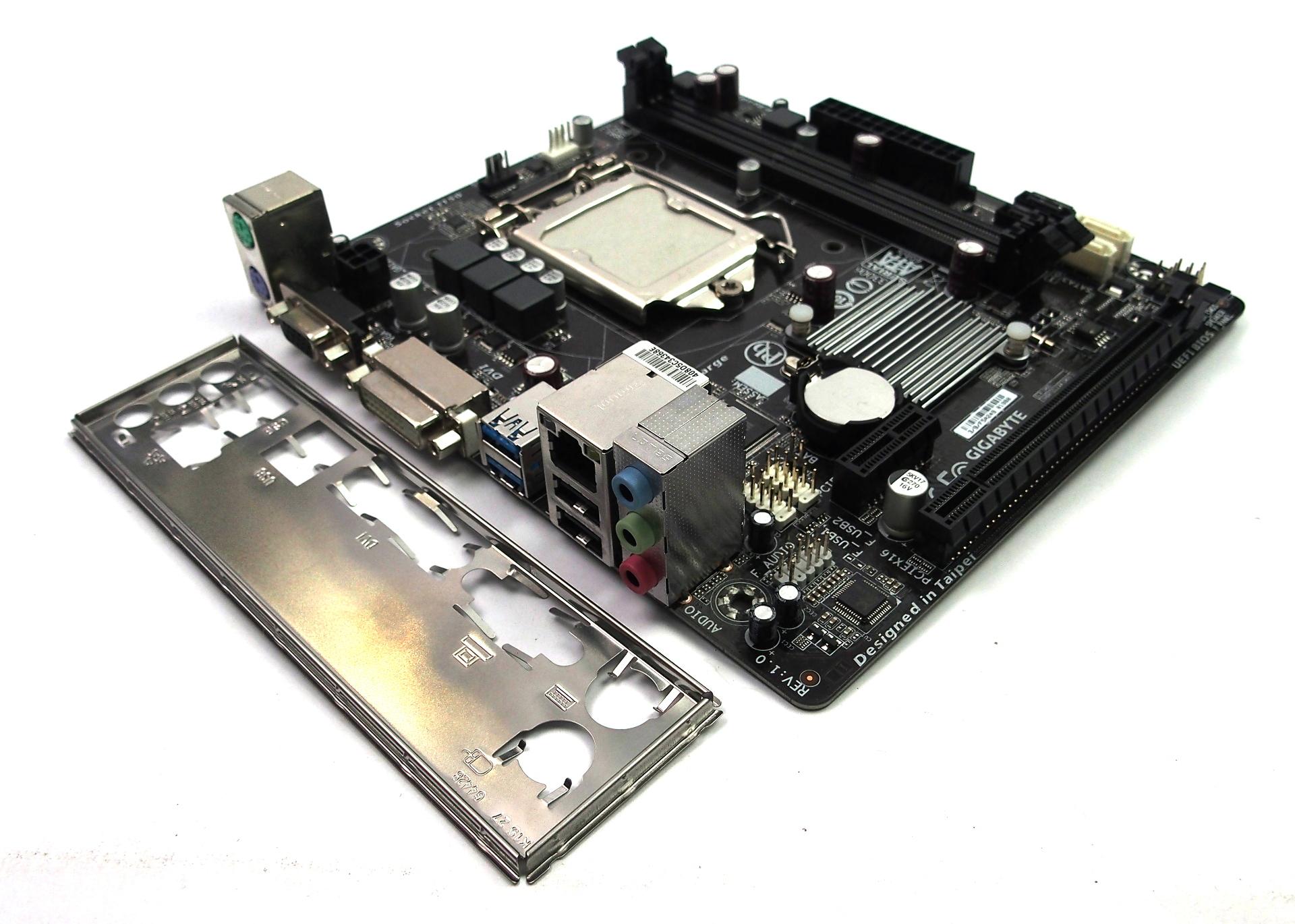 GA-H81M-S2V Rev 1.0 Gigabyte Socket LGA 1150 Motherboard