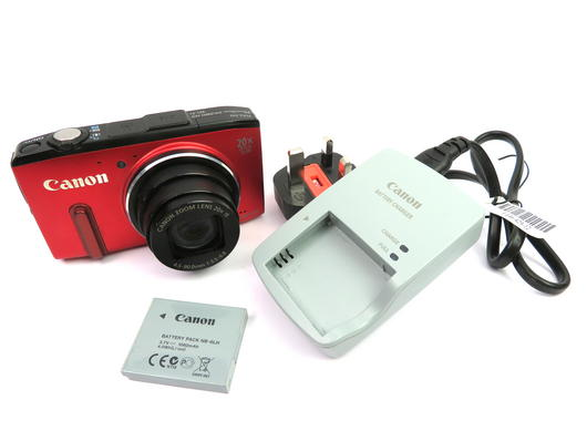 Canon PowerShot SX280 HS PC1886 12MP 20X Compact Digital Camera - Red