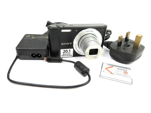 Sony Cyber-shot DSC-W810 20.1MP Compact Digital Camera - Black SN:5593833