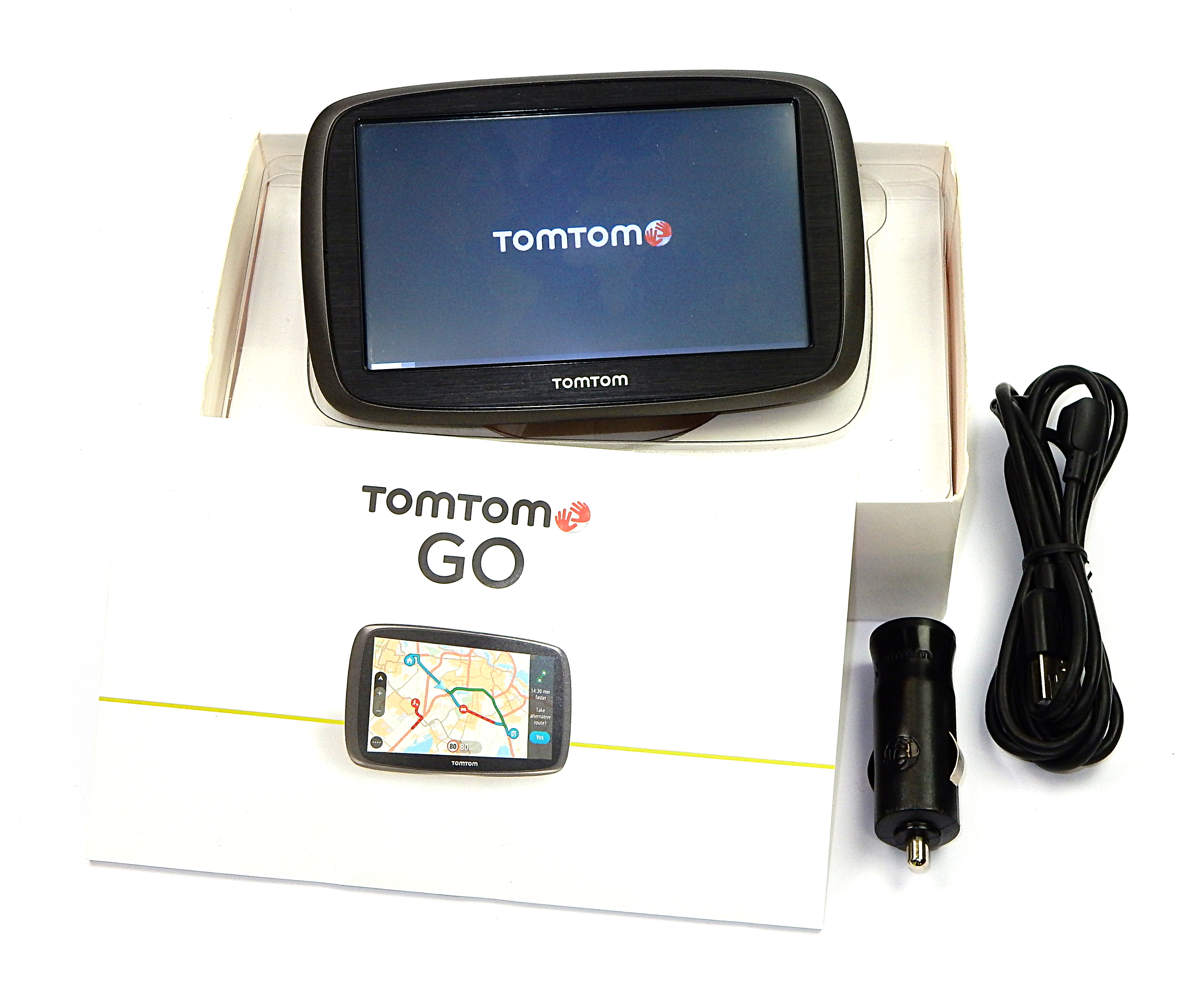 TomTom Start 50 Sat Nav With South Western Europe Maps 4FC54A