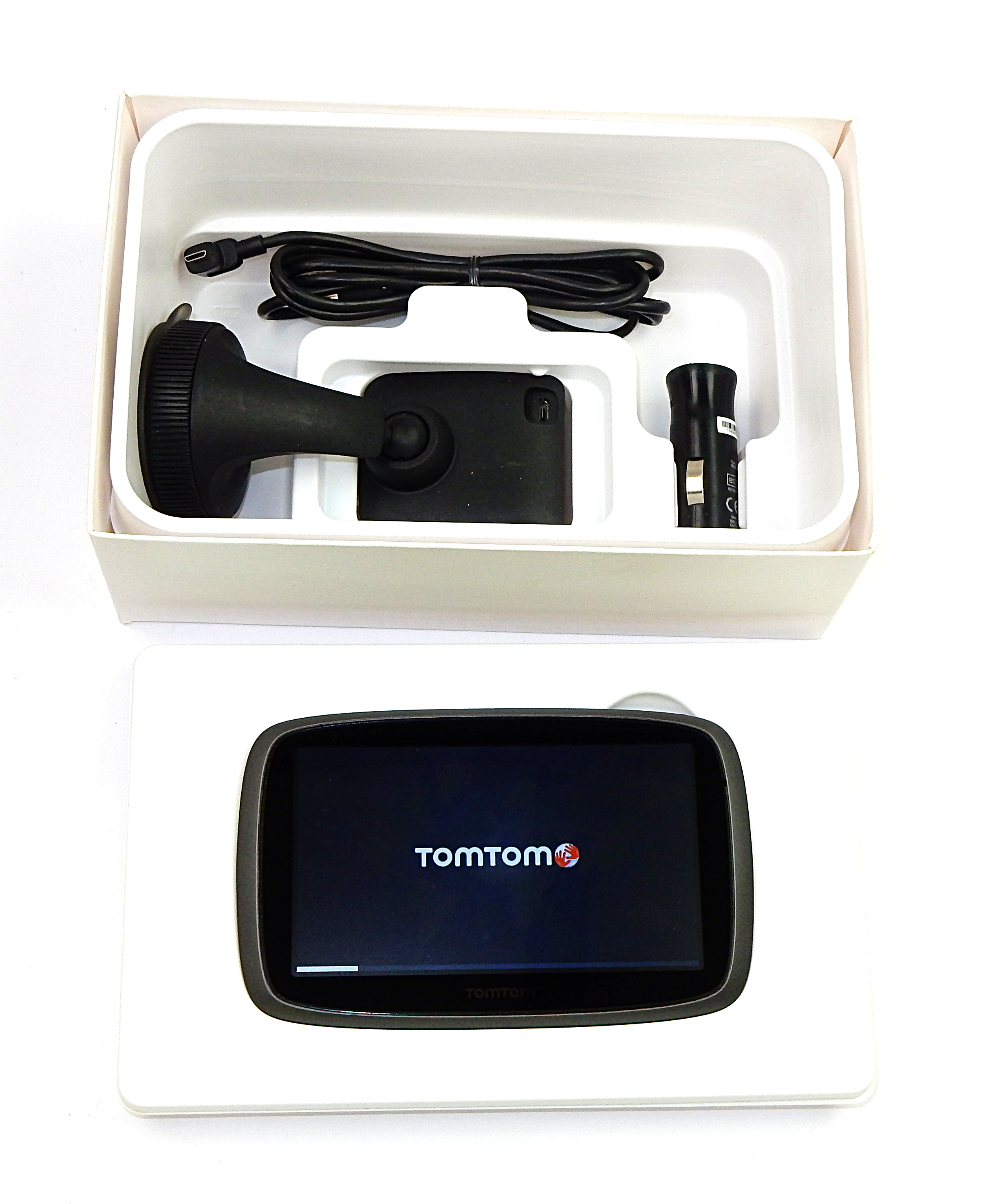 TomTom GO 500 Sat Nav With Western Europe Maps 4FA50 w/ Carry Case
