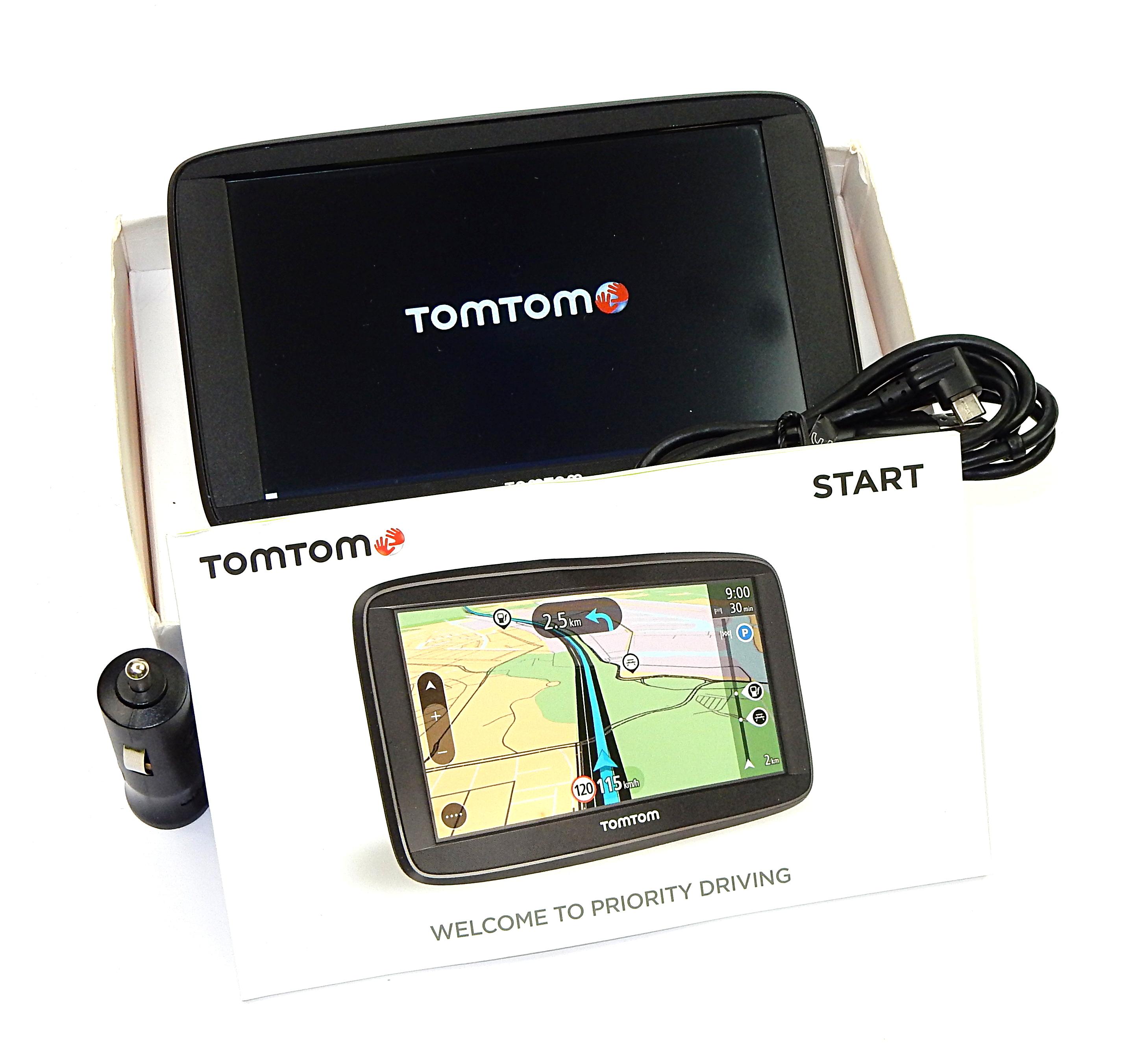 TomTom Start 62 Sat Nav w/ Europe Maps 4AA63