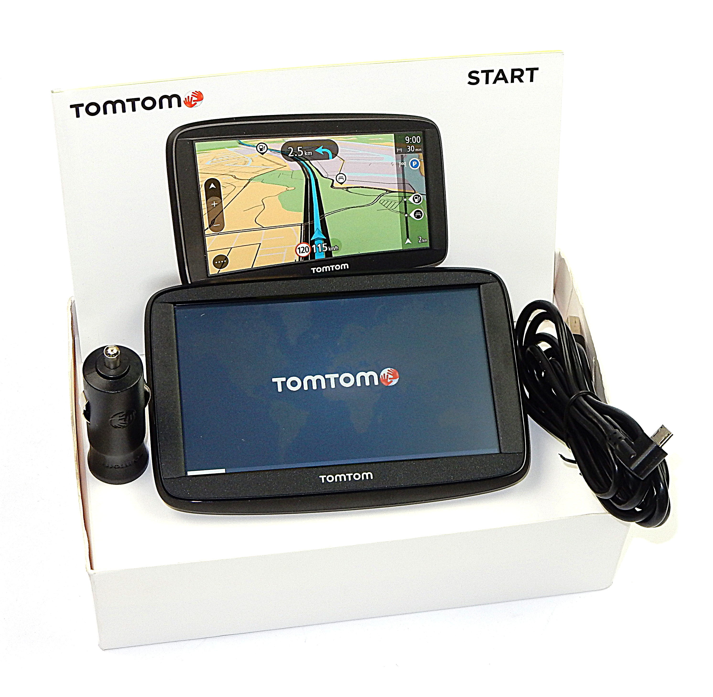 TomTom Start 62 Sat Nav w/ Western Europe Maps 4AA53