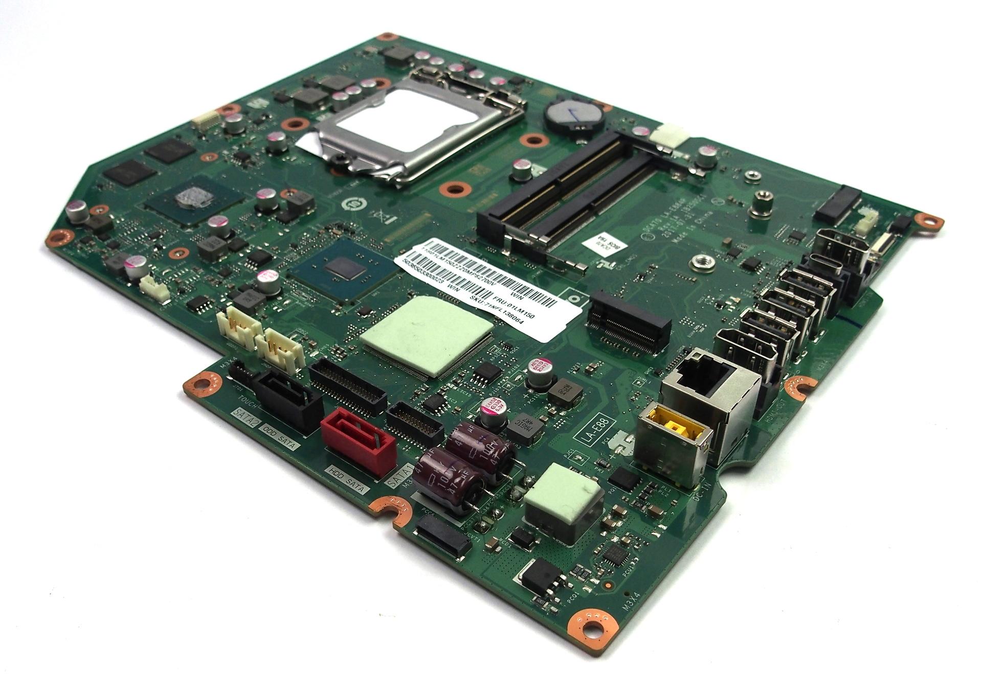 01LM150 Lenovo IdeaCentre 520-27IKL AiO PC Motherboard LA-E884P