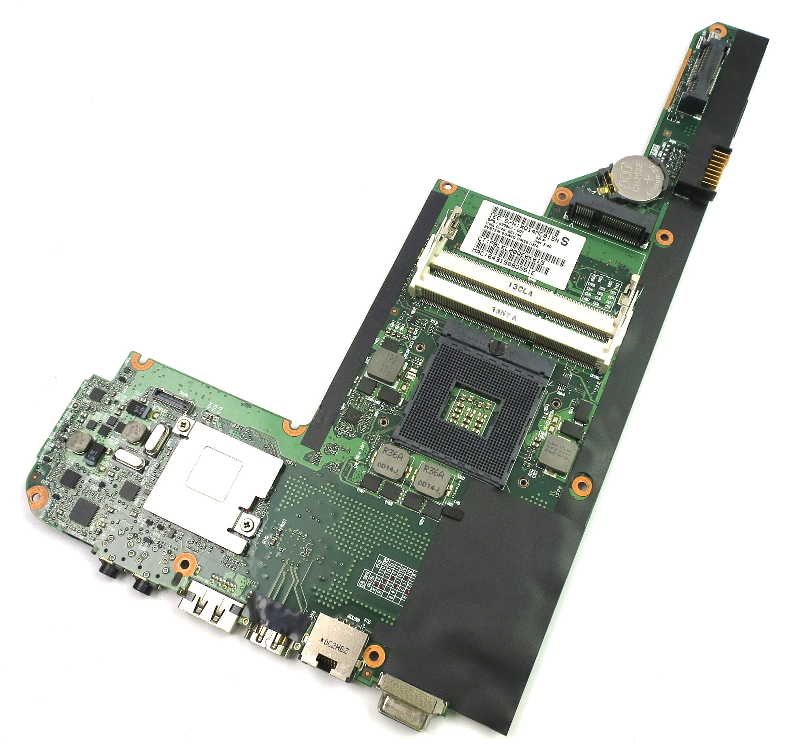 633863-001 HP dm4 Socket rPGA989 Notebook Motherboard