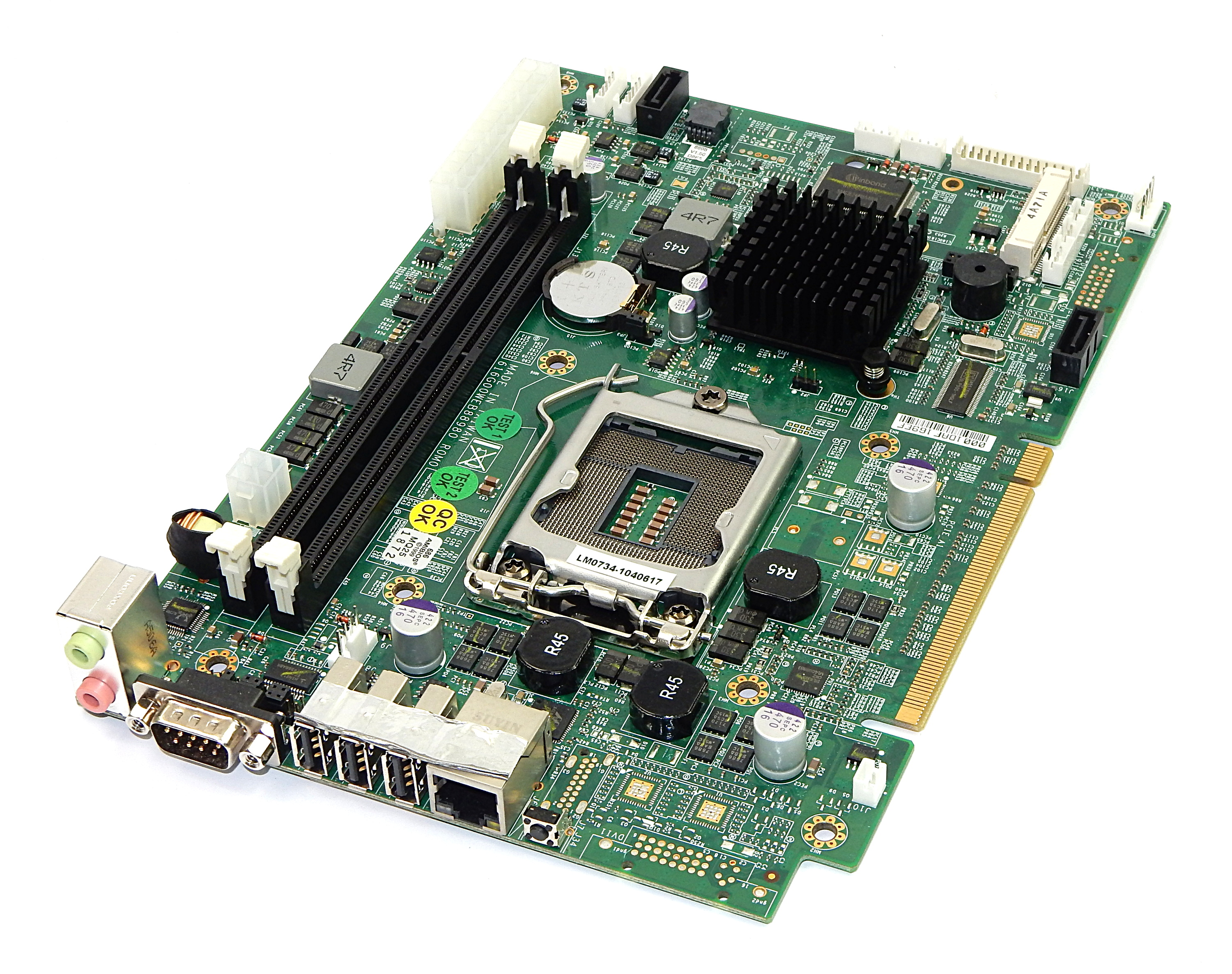 WEB-8898 R0M0E LGA1156 Motherboard for RMG Newtworks IVS SDA-930 PC Player