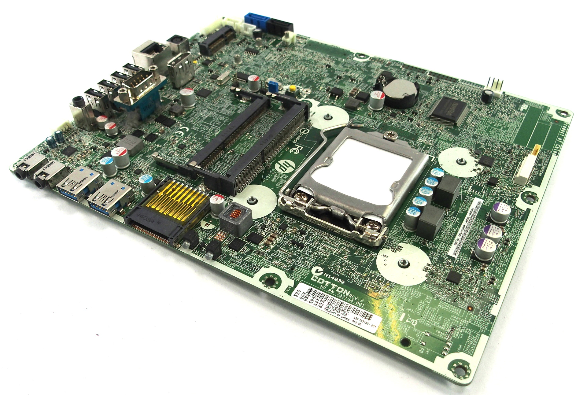 737182-001 HP ProOne 400 G1 AIO PC Motherboard