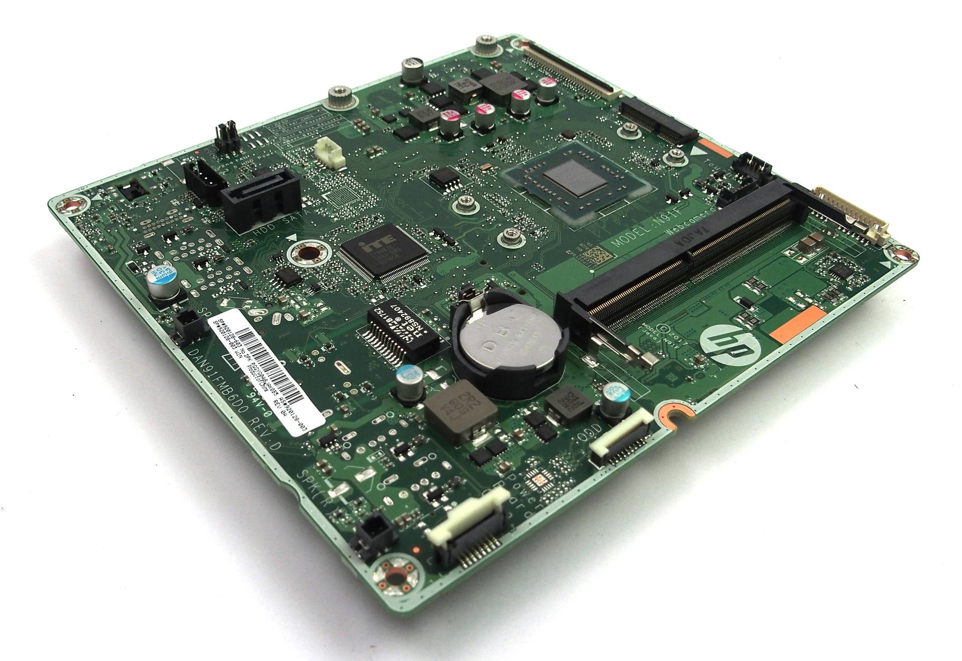 920128-003 HP 24-e080na 24-e086na AiO PC Motherboard /w BGA AMD A9-9400 CPU