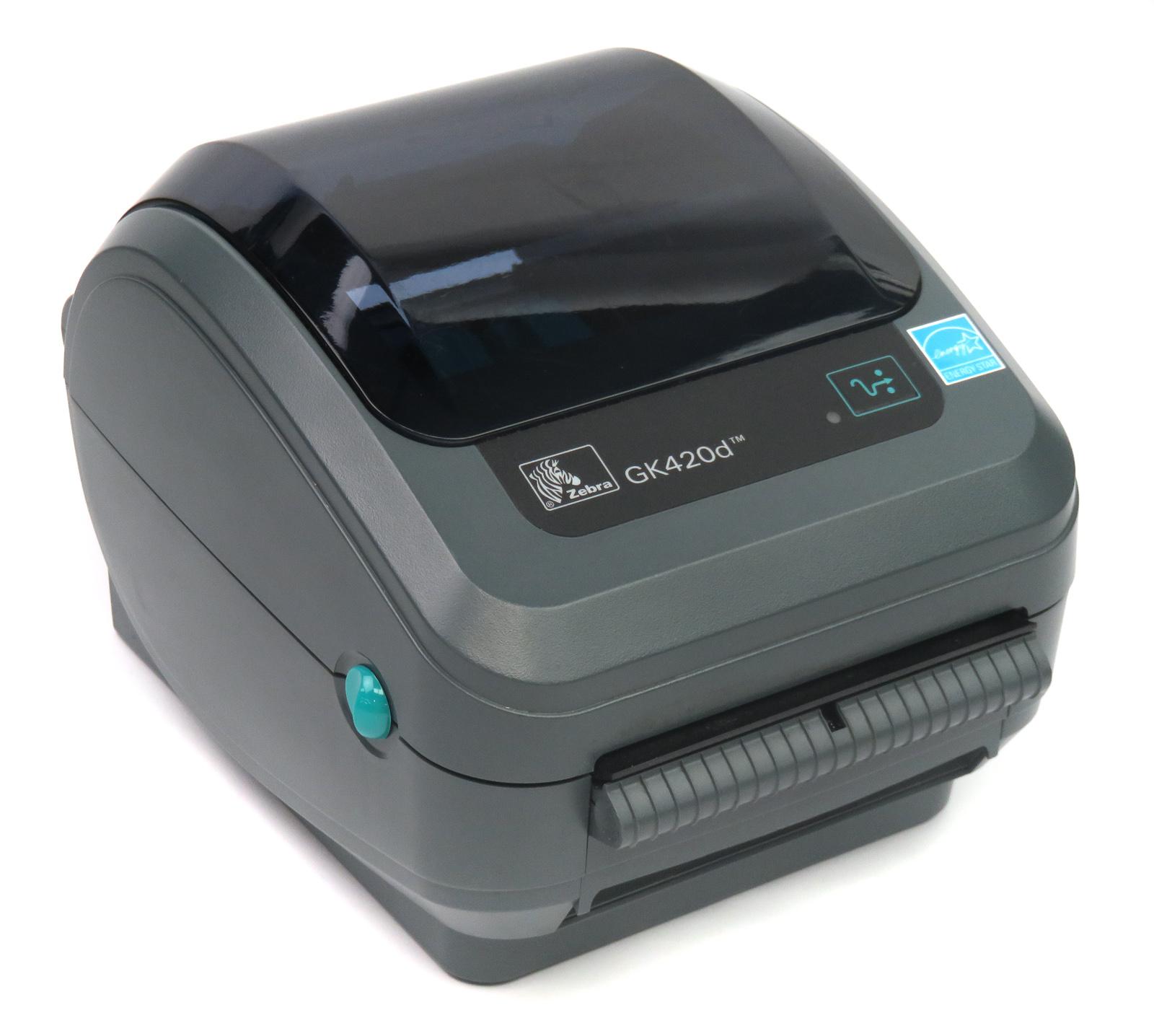 /Zebra GK420d Thermal Label Printer GK42-202221-000 w/ USB ...