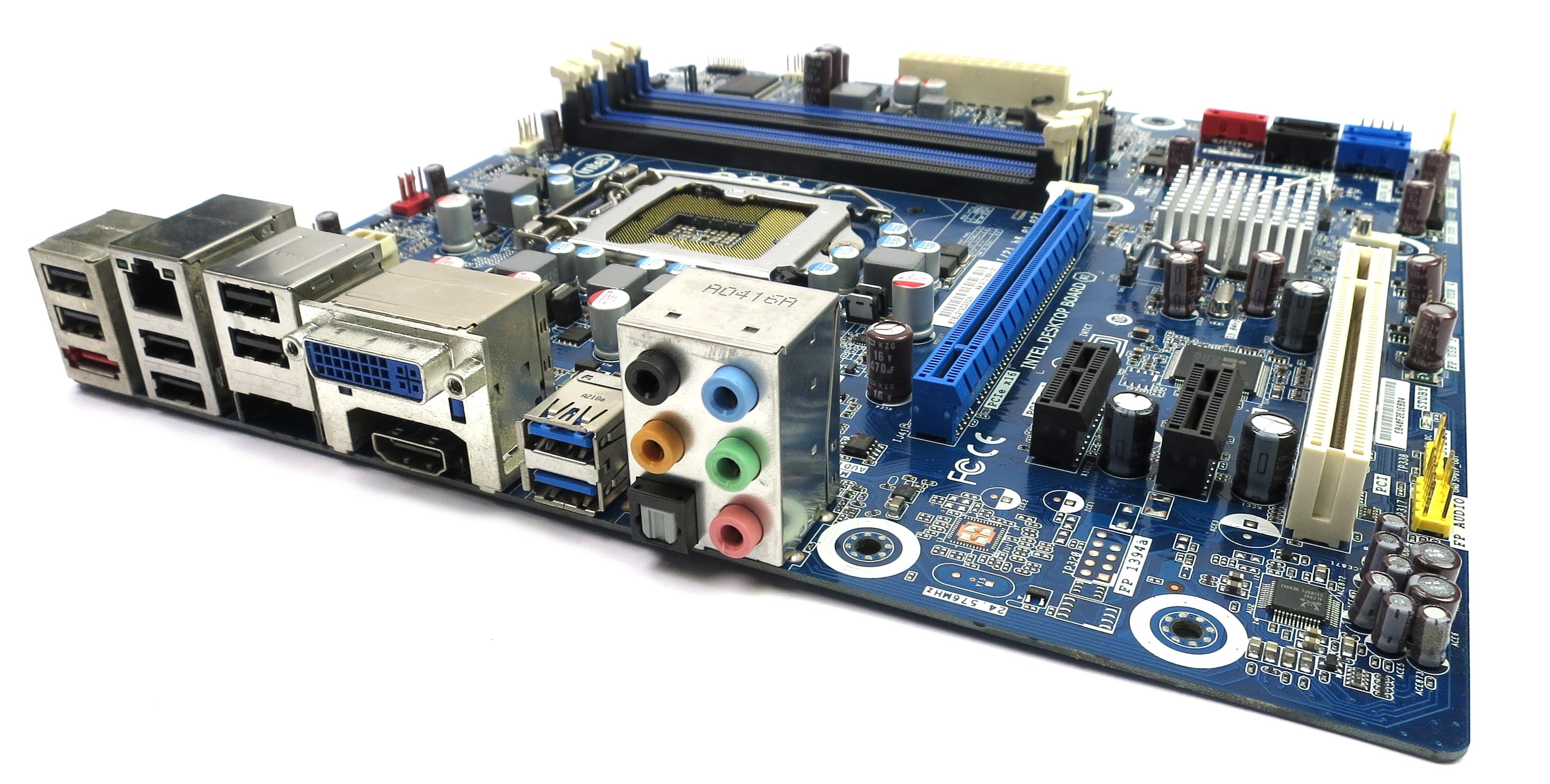 Intel G10189-211 DH67BL Micro ATX LGA1155 USB 3.0 Desktop Motherboard - StonePC