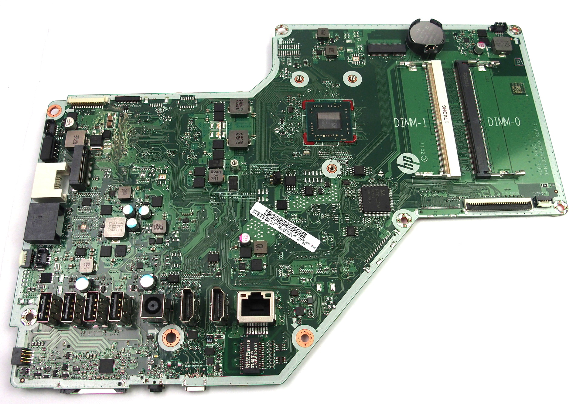 922850-002 HP Pavilion 24-r009na AIO PC Motherboard