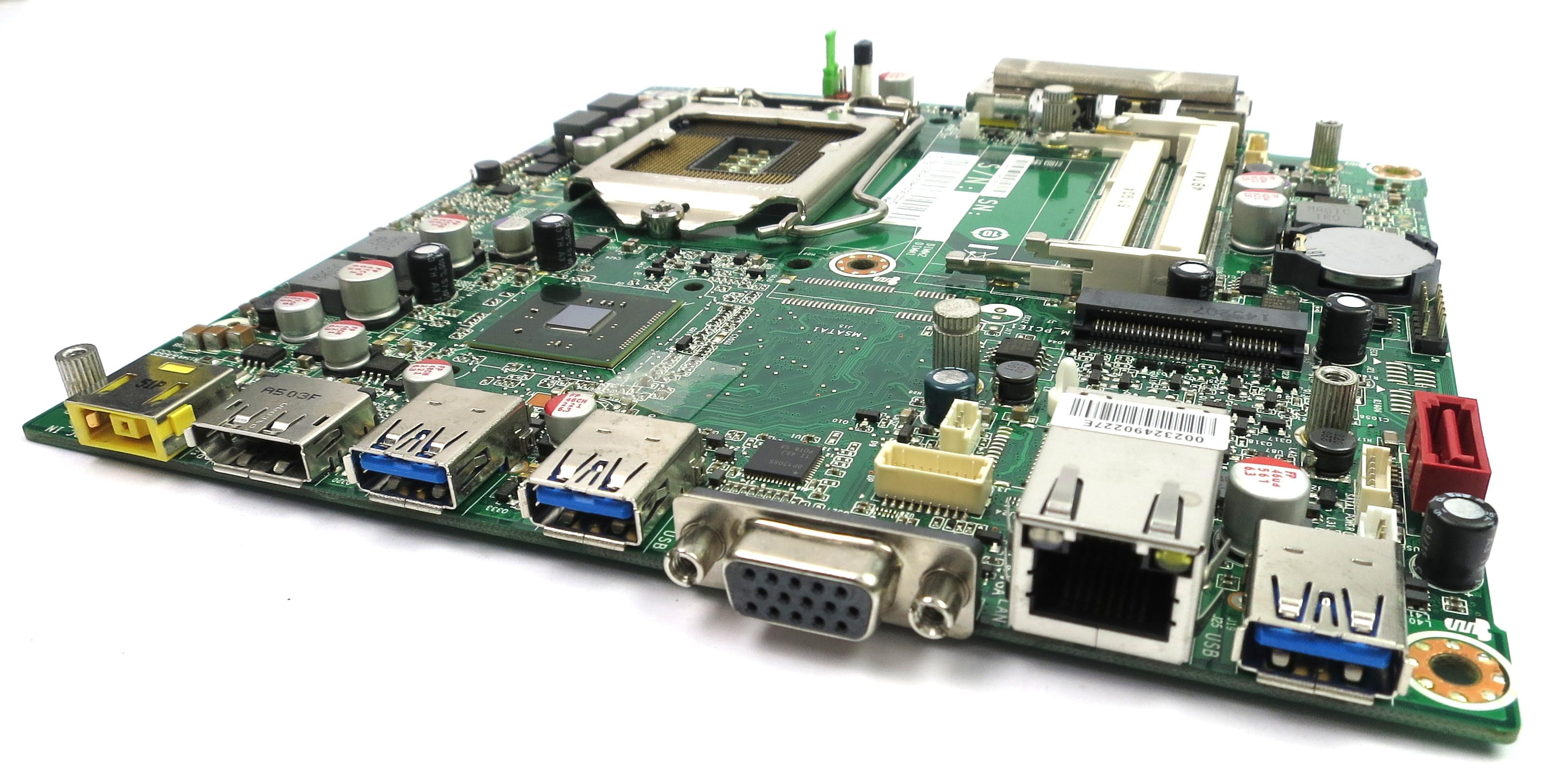 IBM 00KT279 Lenovo Thinkcentre M93 USFF Socket LGA1155 Motherboard IS8XT