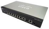 Cisco SG300-10MP 10-Port Gigabit PoE Managed Ethernet Switch - No Power Supply