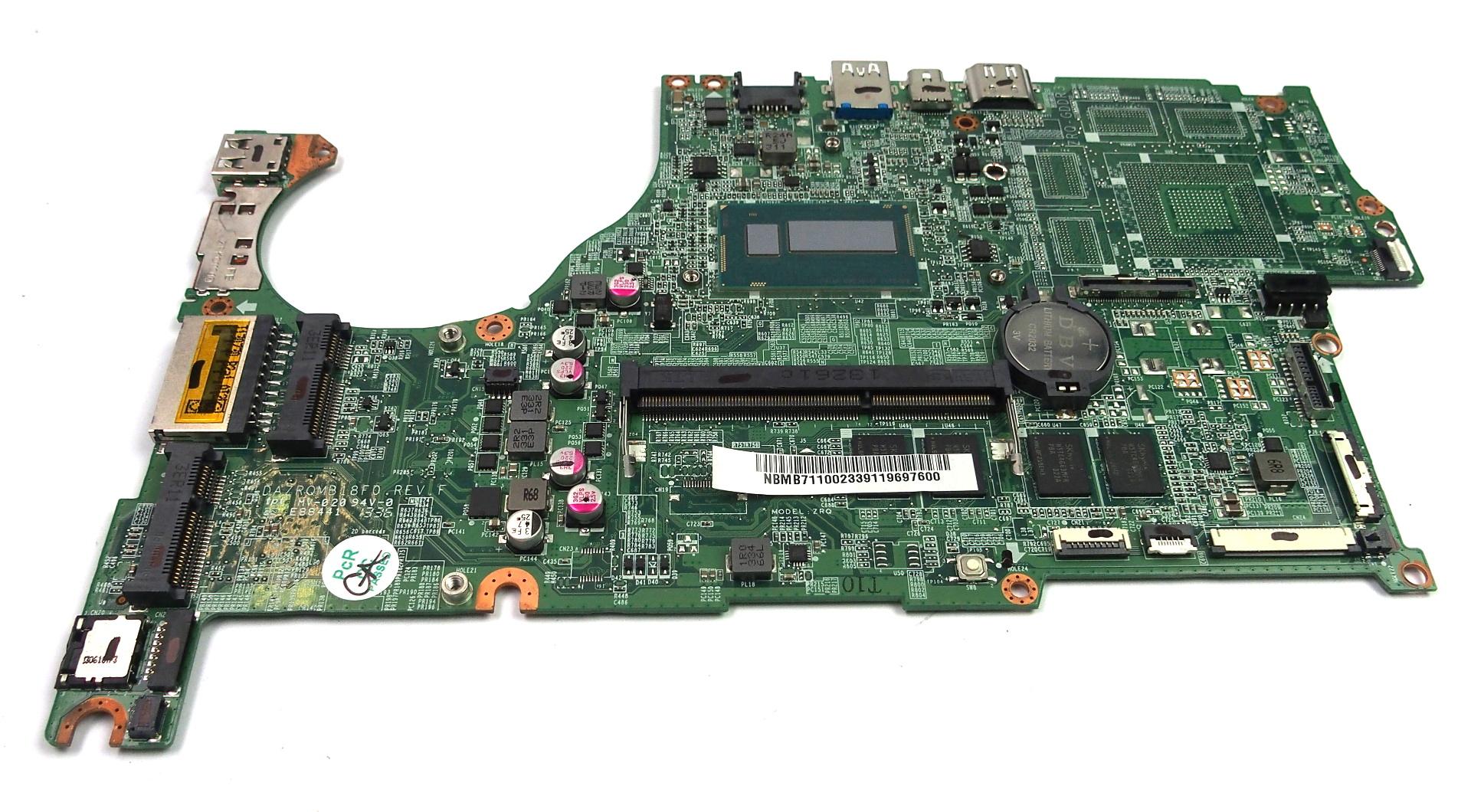 NB.MB711.002 Acer Aspire Laptop Motherboard /w BGA Core i7-4500U CPU