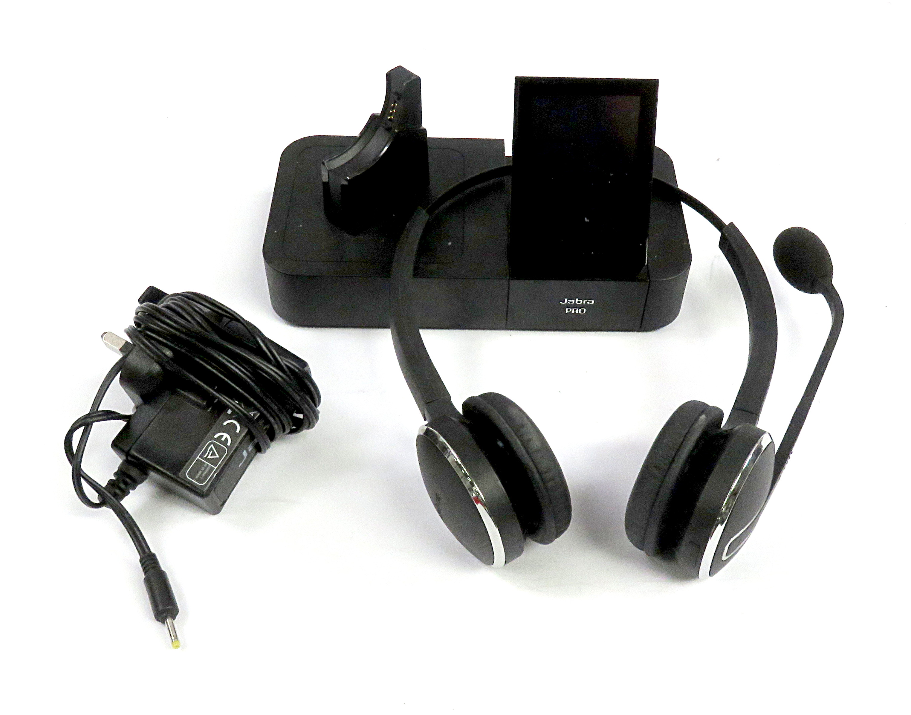 Jabra PRO 9470 Duo DECT Wireless Telephony System w/ Stereo Headset & PSU