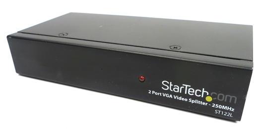 StarTech ST122LGB 2 Port VGA Video Splitter - 250MHz