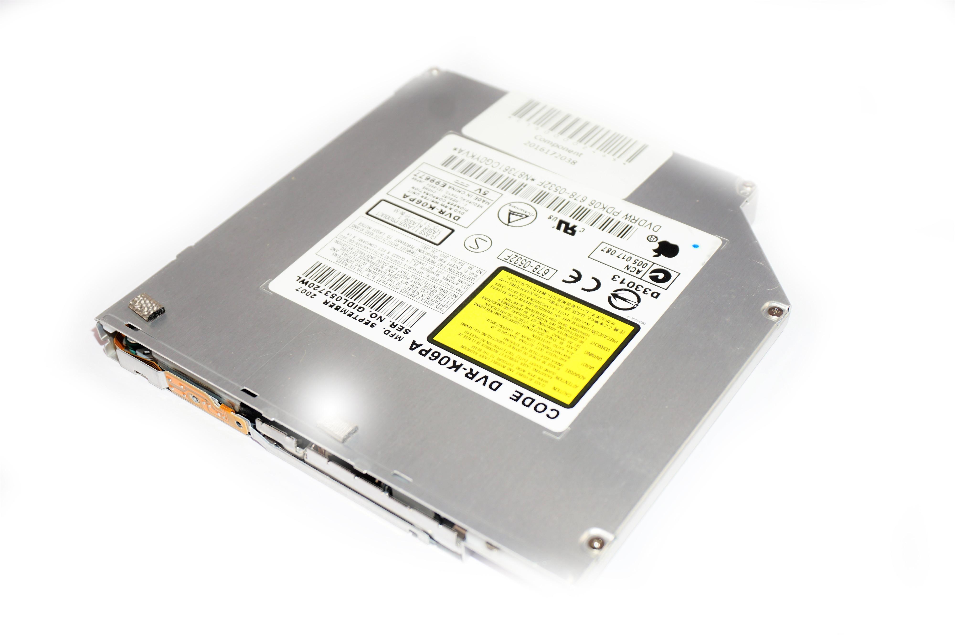 678-0532G Apple DVR-K06PA Optical Drive /f Mac Mini A1176 EMC:2108