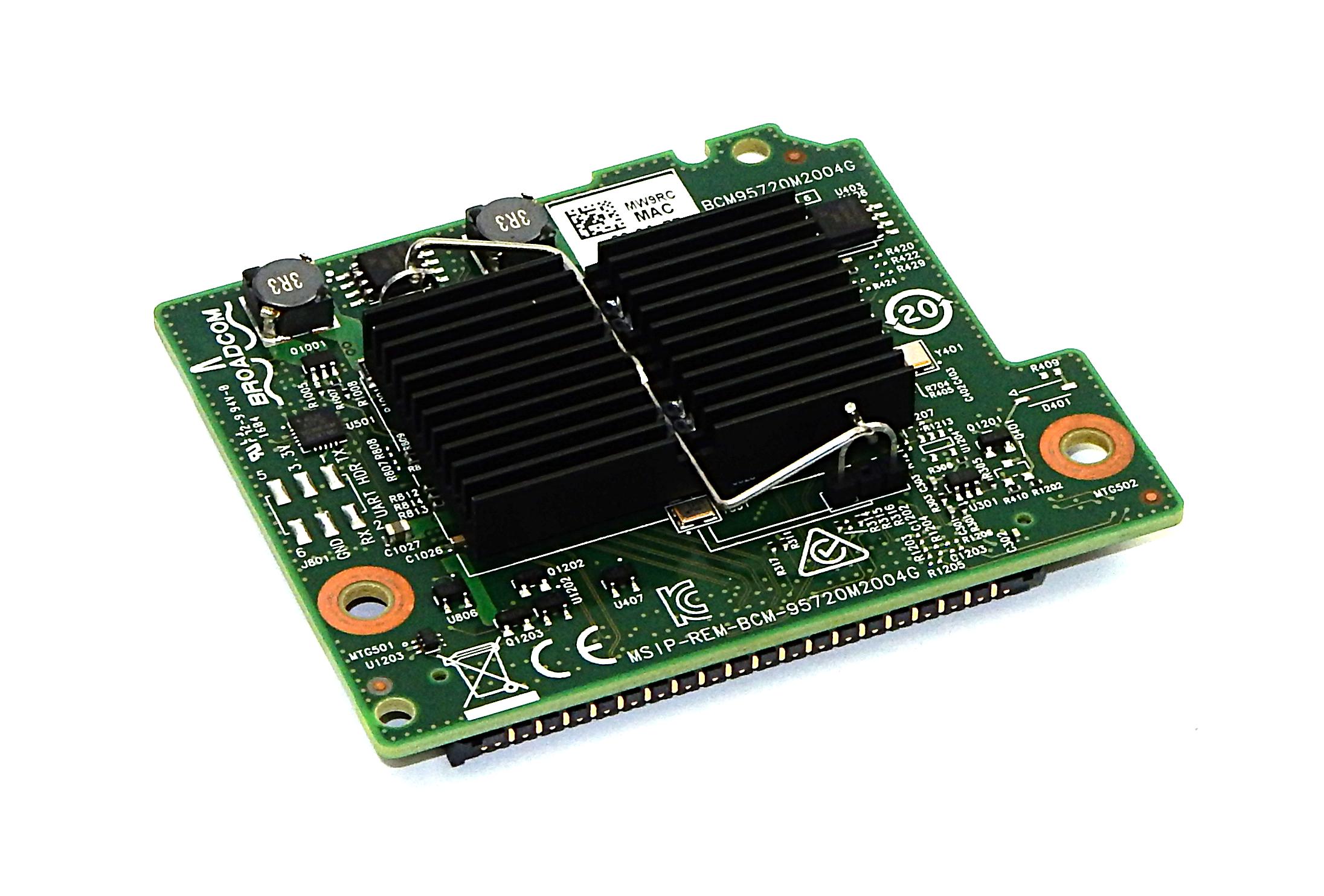 Dell MW9RC Broadcom 5720 1GB Quad Port Blade Network Card For PowerEdge FC630
