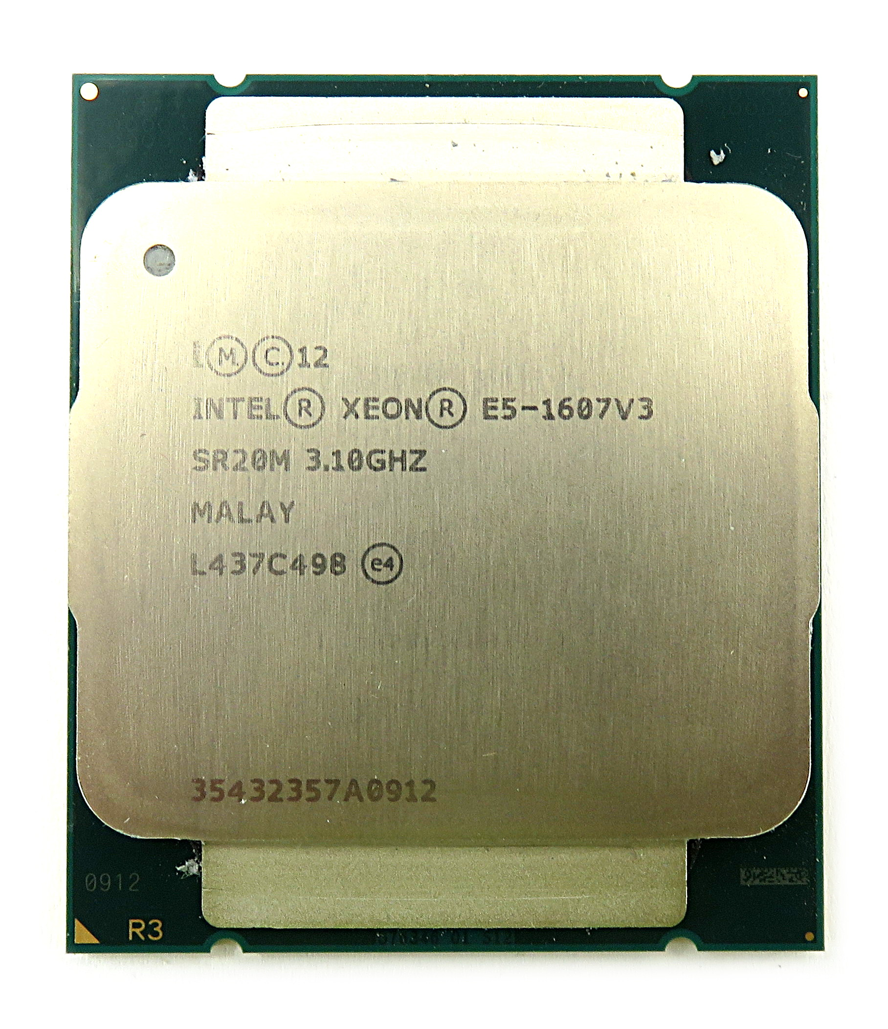 Intel Xeon E5-1607 V3 SR20M Quad-Core 3.1GHz 10MB Socket 2011-3 Haswell-EP CPU