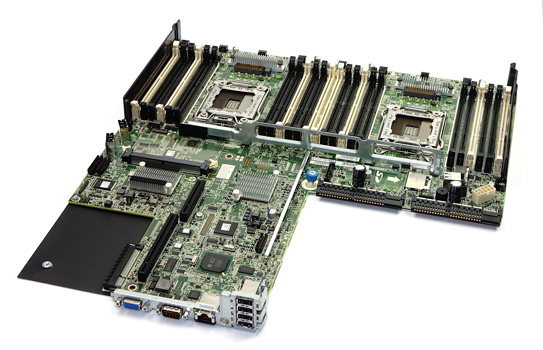 Hp 732150 001 Proliant Dl360p Gen8 System Board Mainboard