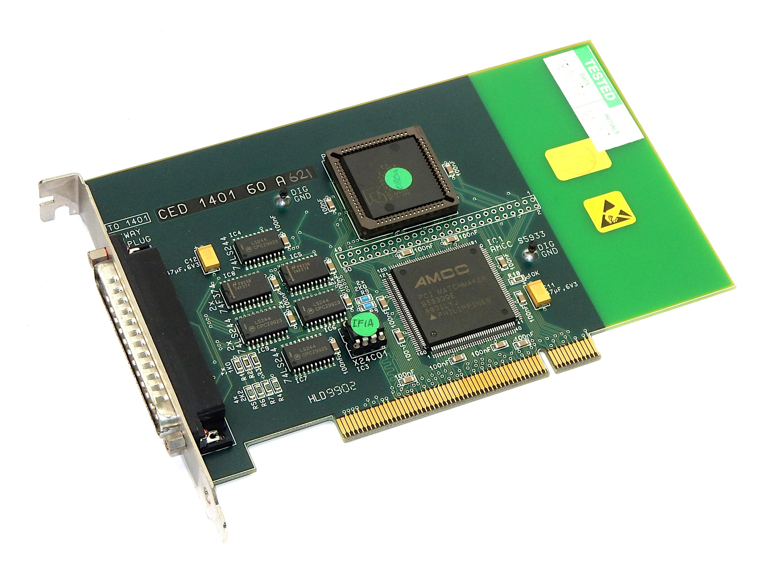 CED 1401 60 A621 PLD-080 IC2 T0 1001 PCI Card