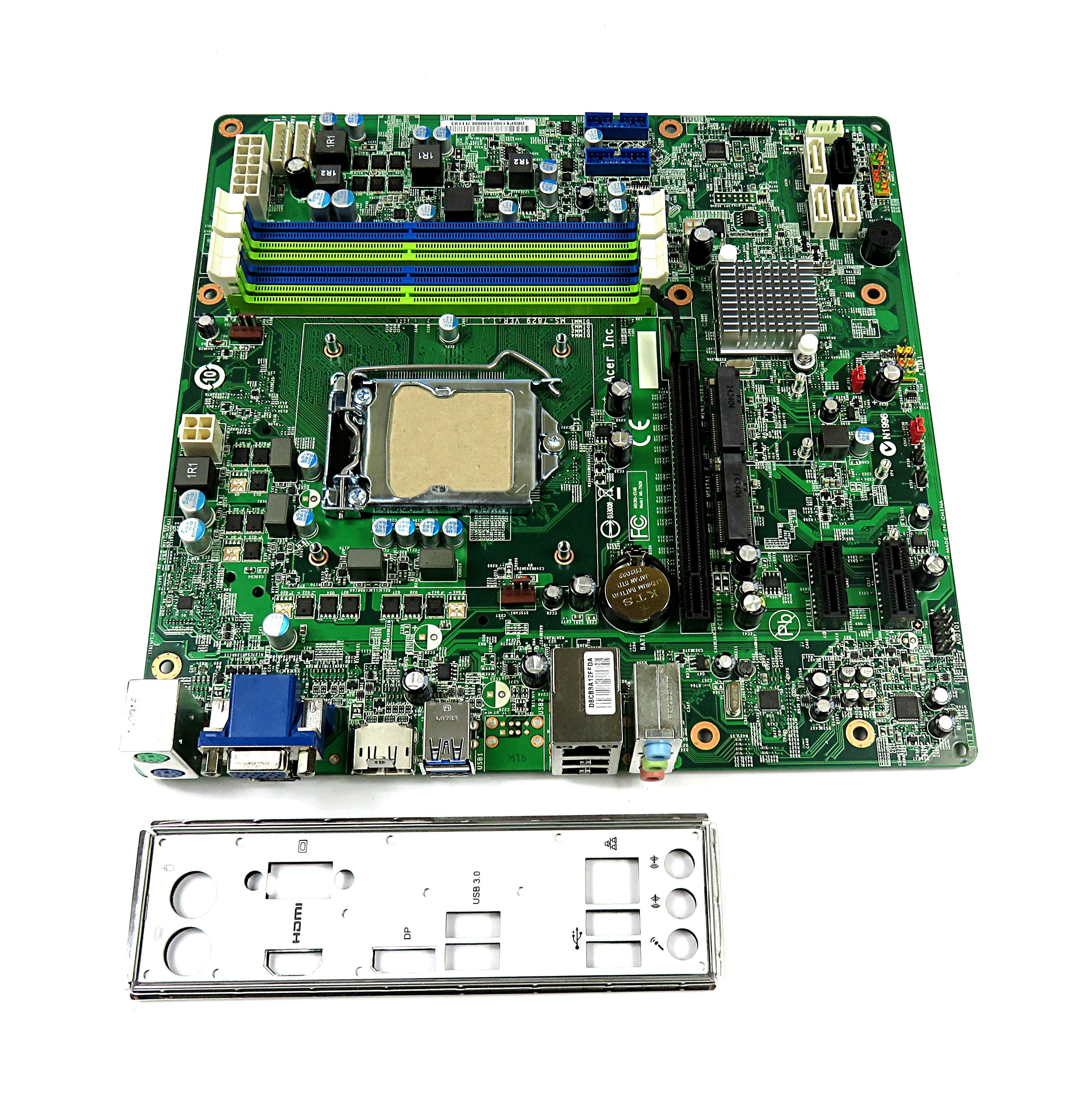 Acer Predator G3-605 LGA1150 Motherboard  DB.SPX11.001 MS-7829