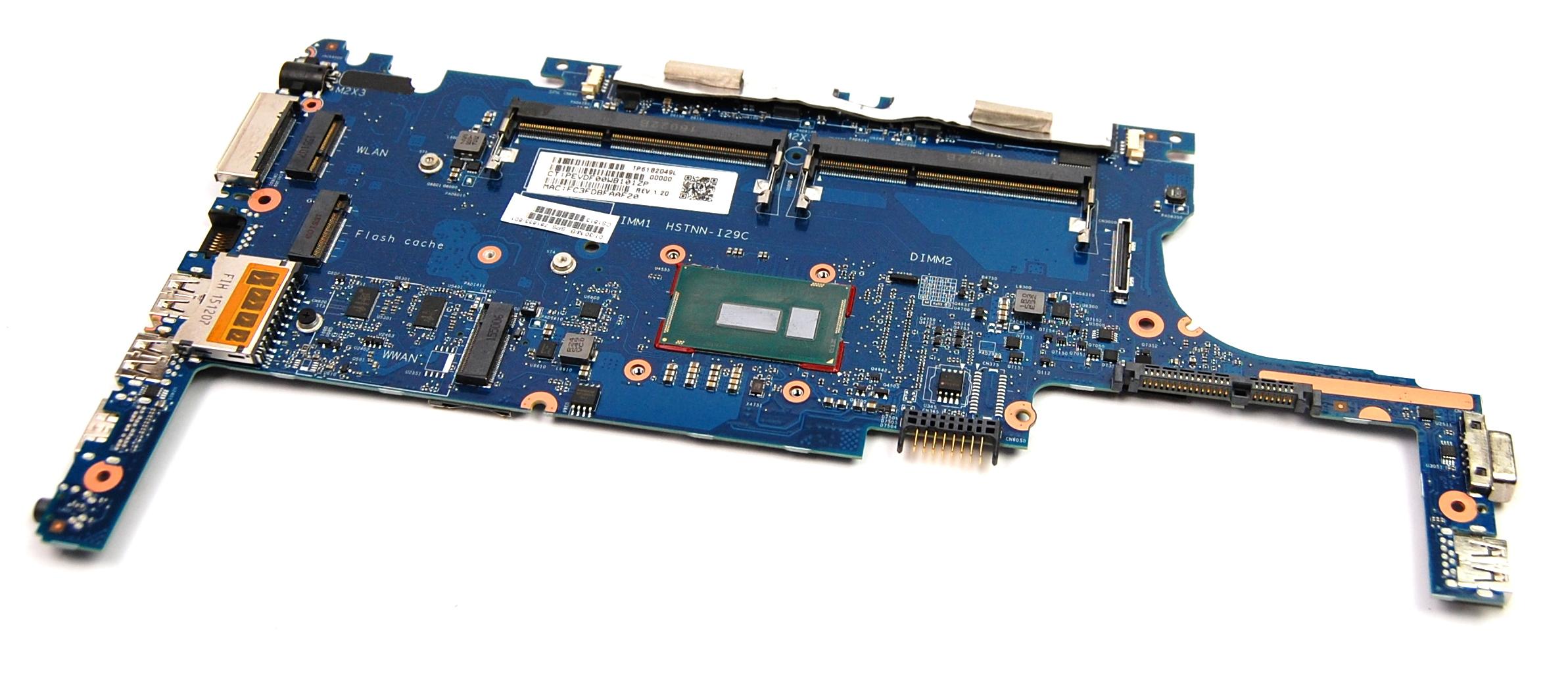 HP 781855-601 EliteBook 820 G2 Motherboard with Intel i5-5200U CPU