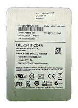 "HP 735313-001 690229-001 128GB 2.5"" SATA SSD Lite-on LCS-128M6S-HP"