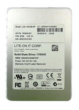 """HP 763649-001 128GB 2.5"""" SATA SSD Lite-on LCS-128L9S-HP"""