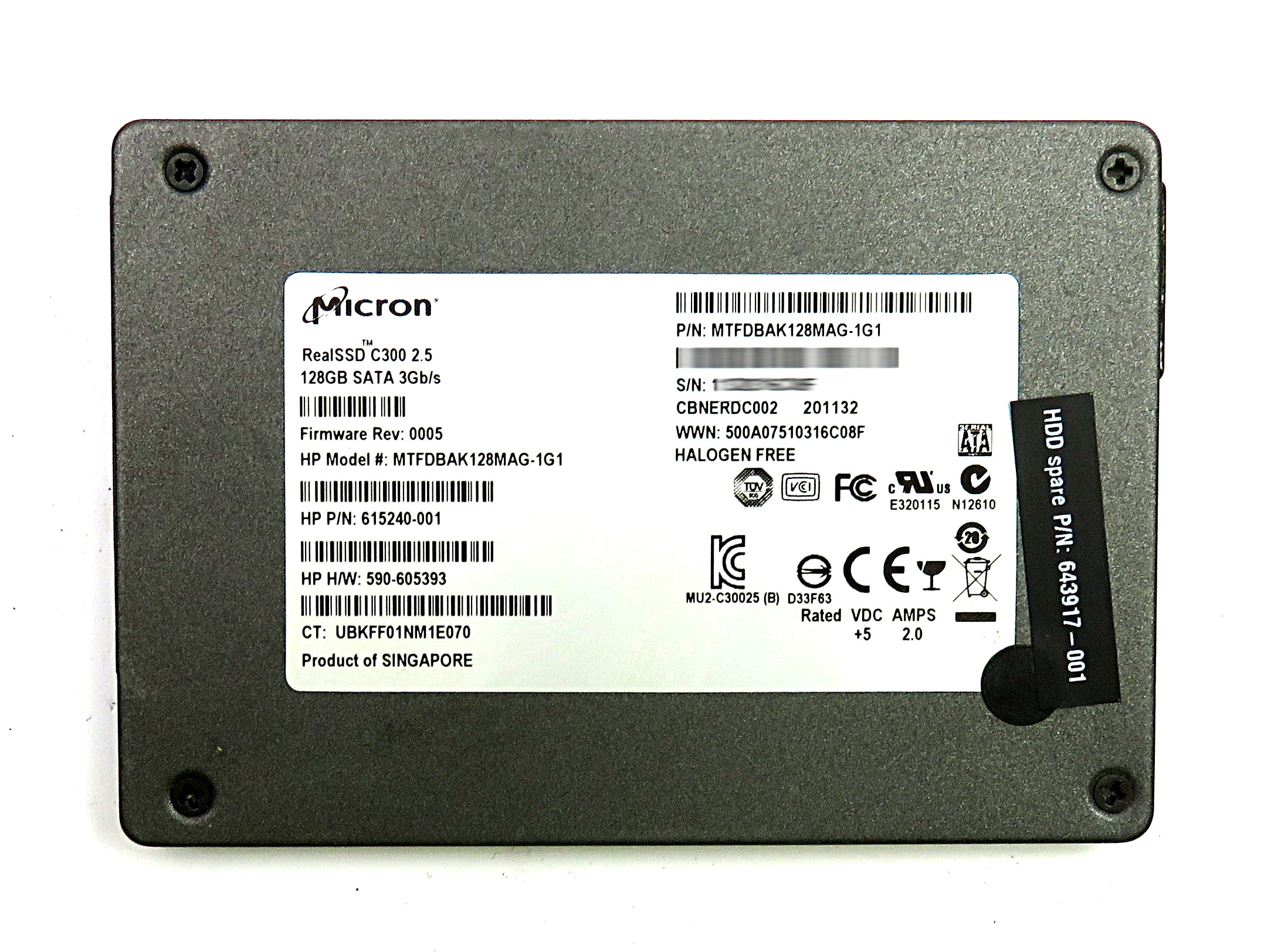 MICRON REALSSD C300 DRIVERS FOR WINDOWS XP