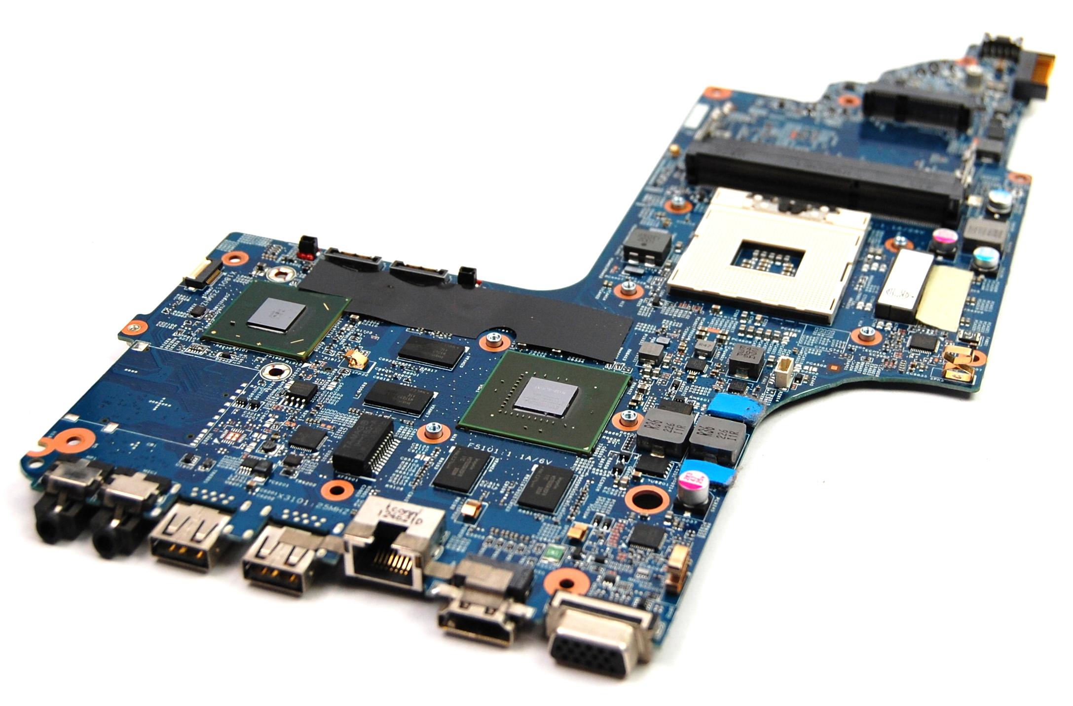 HP 55.4ZQ01.011 ENVY dv7 Socket rPGA989 Motherboard with GeForce GT635M GPU
