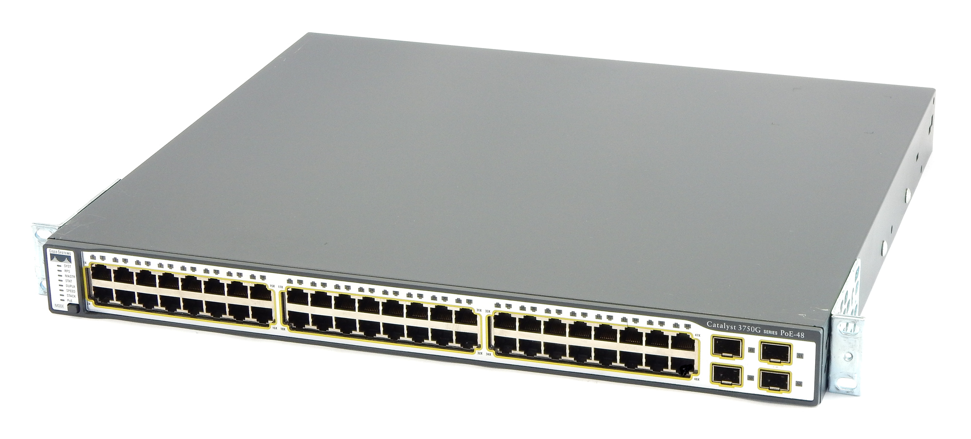 Cisco Catalyst 3750G Series PoE-48 Switch WS-C3750G-48PS-S V05