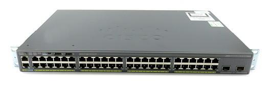 Cisco Catalyst 2960-X Series 48-Port Managed 10Gb Uplink Switch WS-C2960X-48TD-L