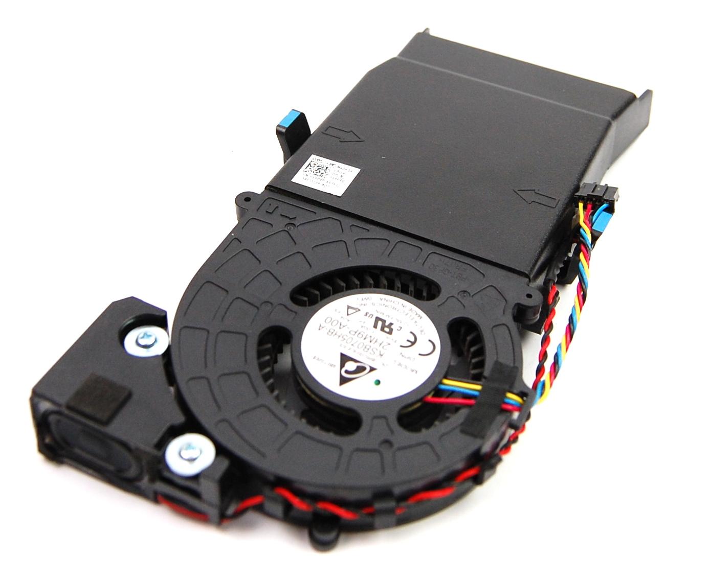 Dell 19P4P 2HM9P KG9KP Optiplex 3020m Heatsink Shroud Cover, Fan & Speaker Assem