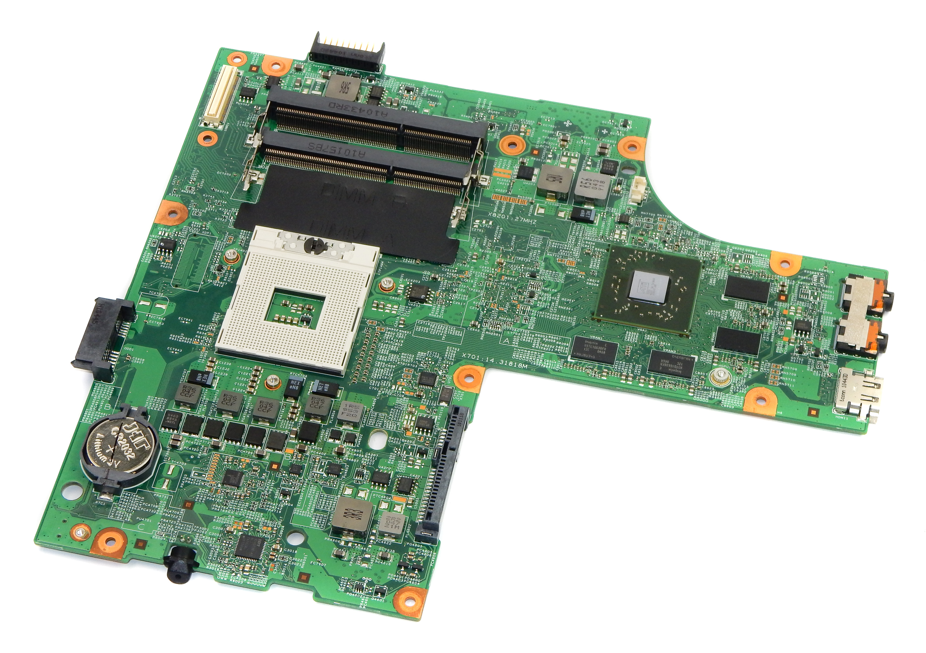 Dell W9PGG Inspiron N5010 Laptop Motherboard
